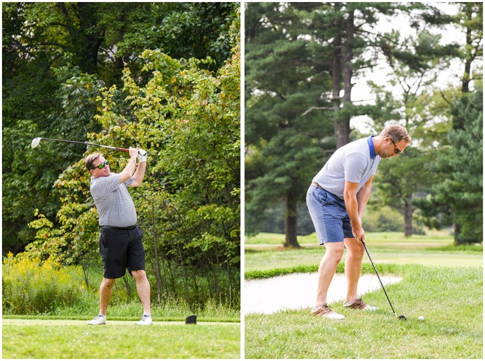 Golf tournament photographer in Maryland