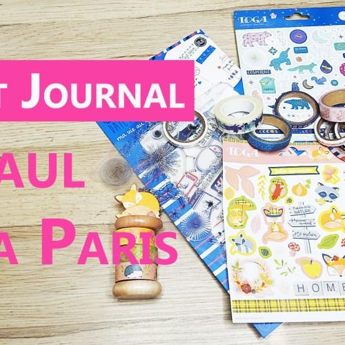 BULLET JOURNAL : mon HAUL Toga Paris