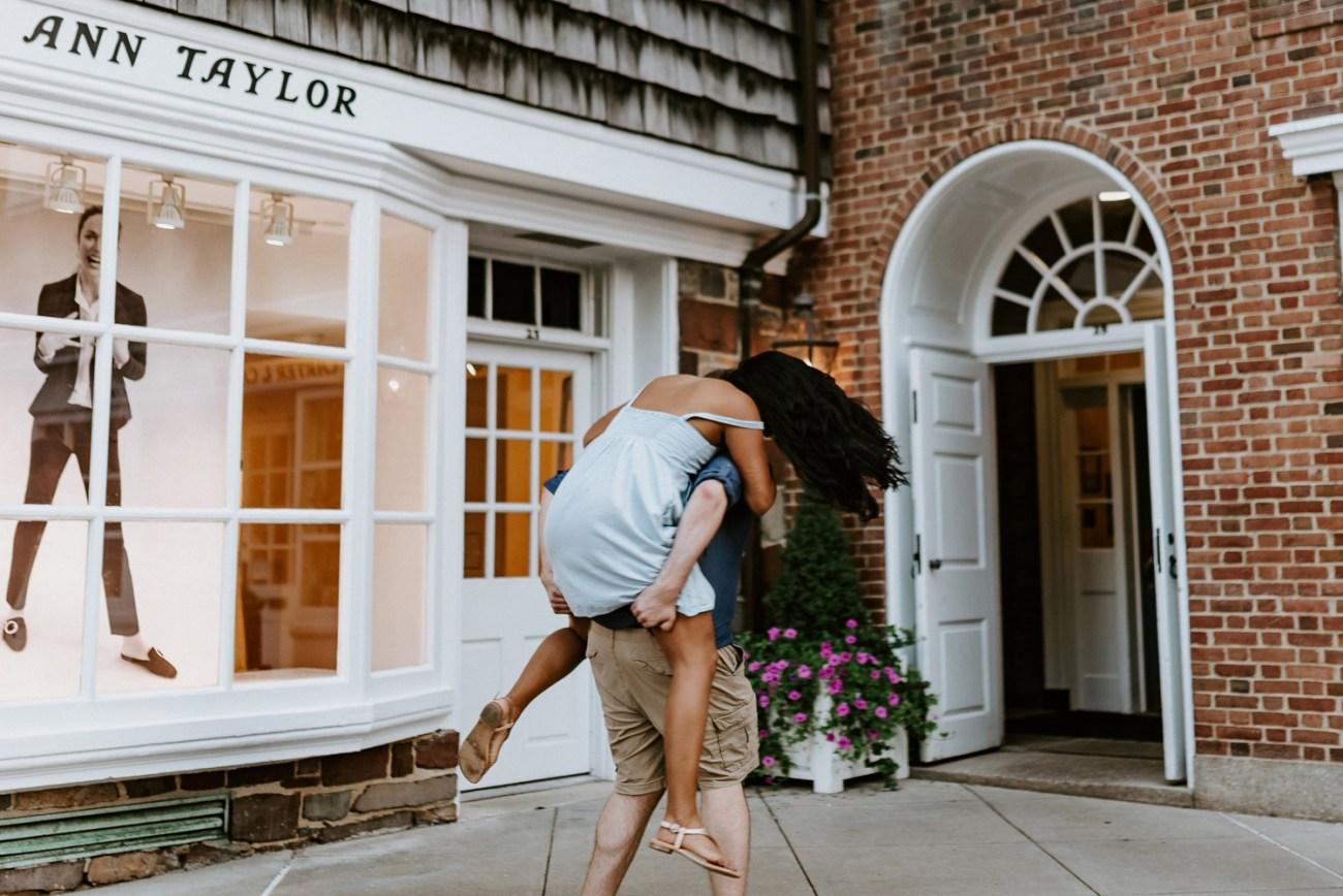 Princeton University Engagement Session New Jersey Wedding Photographer Anais Possamai Photography