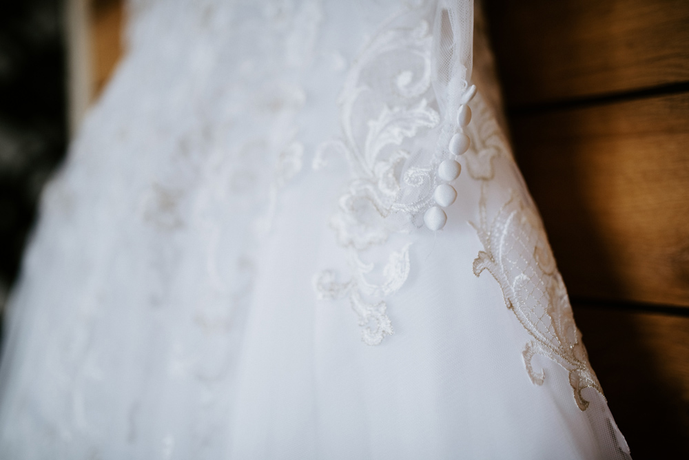 Wedding gown details, New Jersey Wedding
