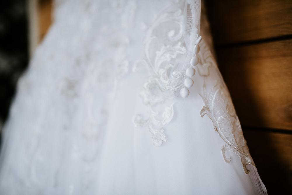 Wedding gown details, New Jersey Wedding