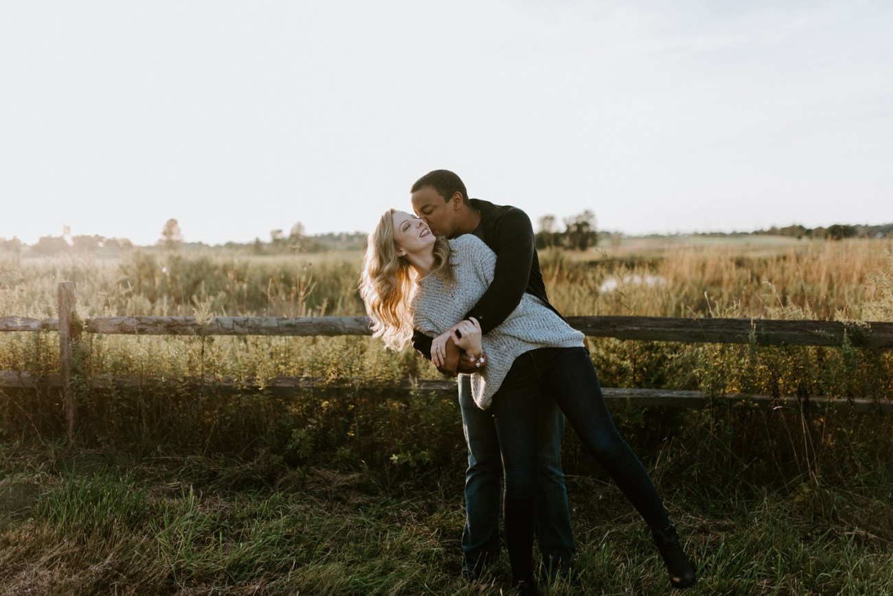 Fall couple session in Branchburg New Jersey. Anais Possamai Photography
