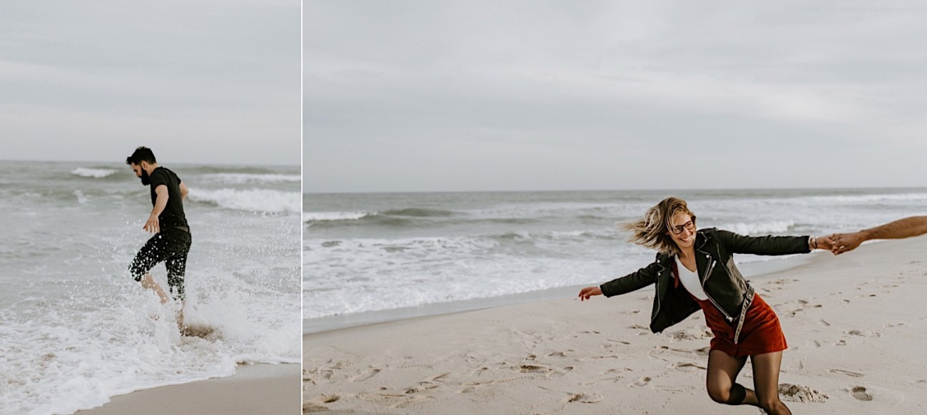 Long Beach New Jersey Engagement NJ Wedding Photographer Beach Engagement Photos 13