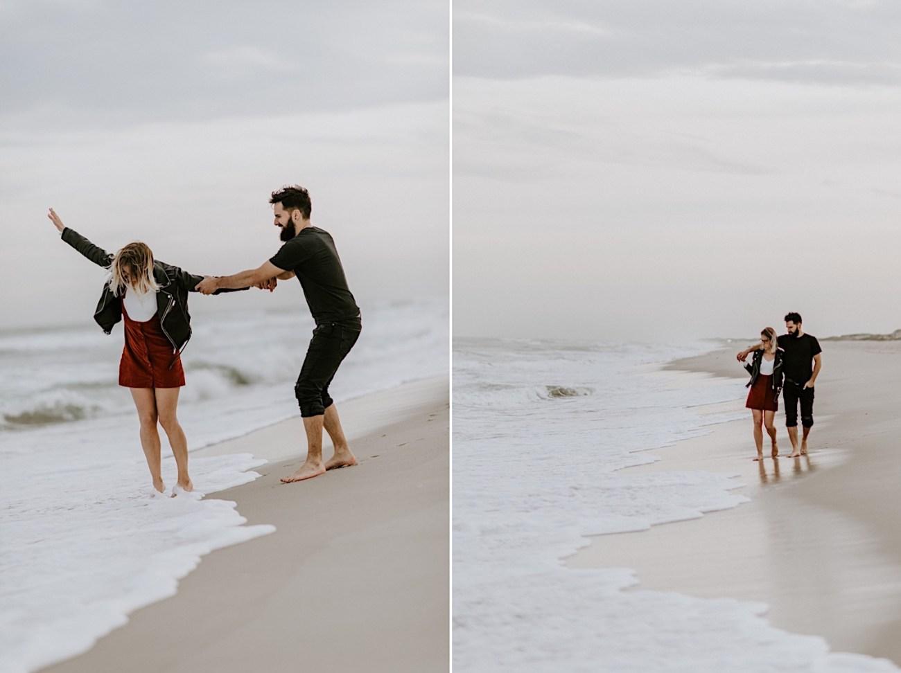 Long Beach New Jersey Engagement NJ Wedding Photographer Beach Engagement Photos 30