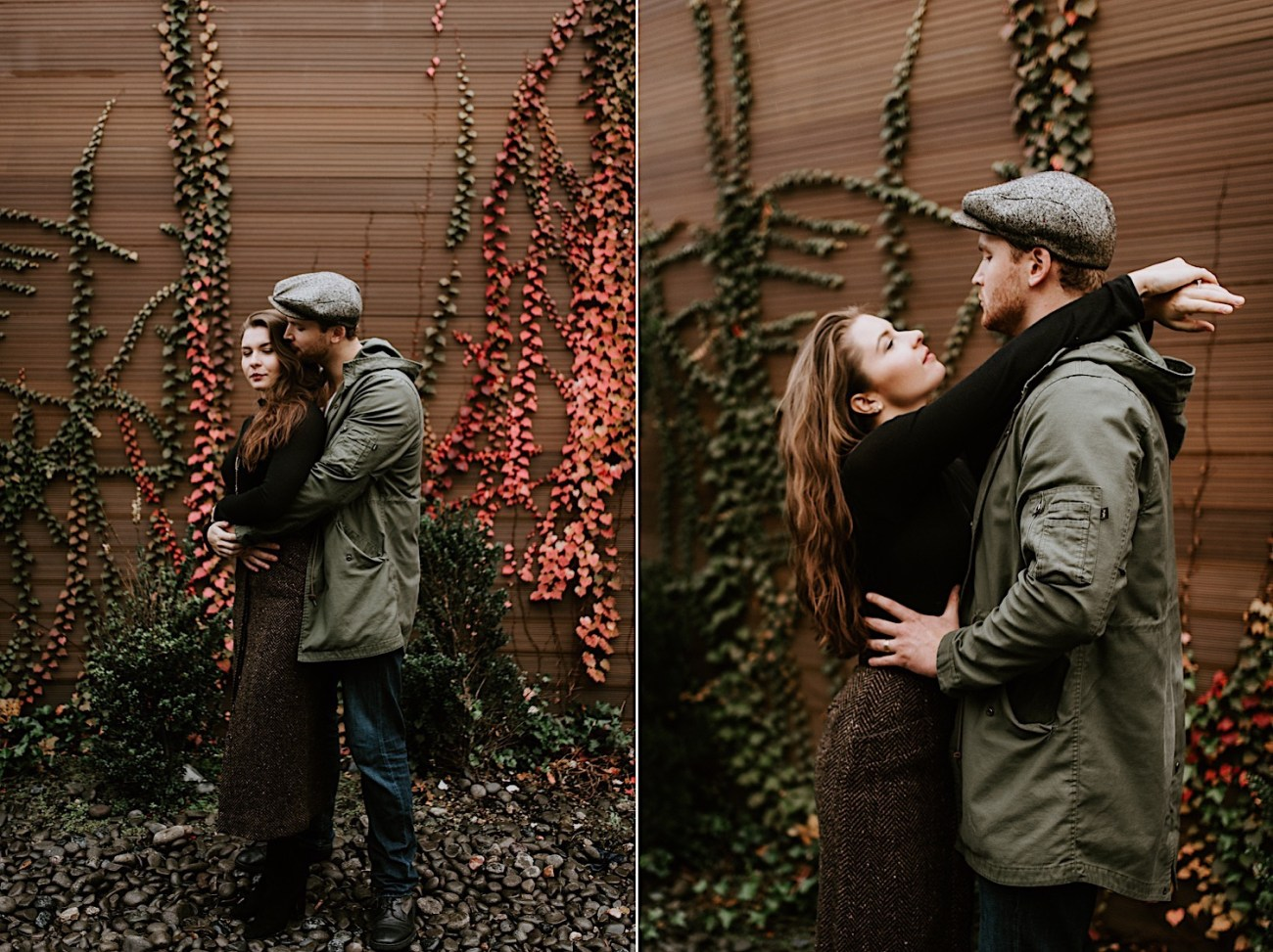 The Green Building Couple Session Brooklyn Wedding Venue NYC Wedding Photographer 09