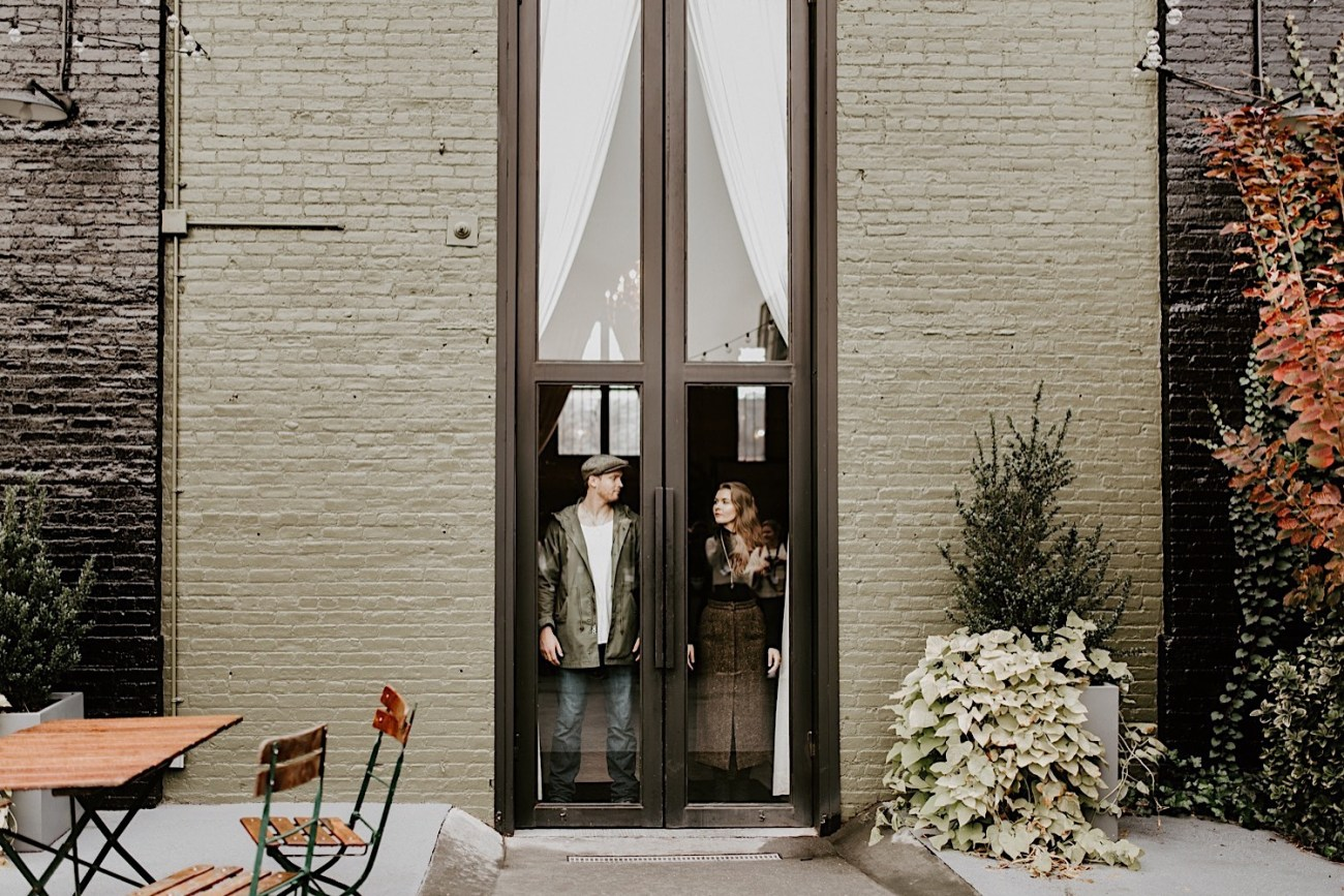 The Green Building Couple Session Brooklyn Wedding Venue NYC Wedding Photographer 17