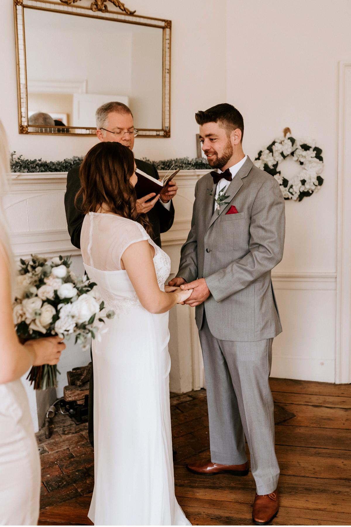 27 The Inn At Glencairn Destination Wedding Photographer Winter Elopement New Jersey Wedding Photographer Intimate Wedding
