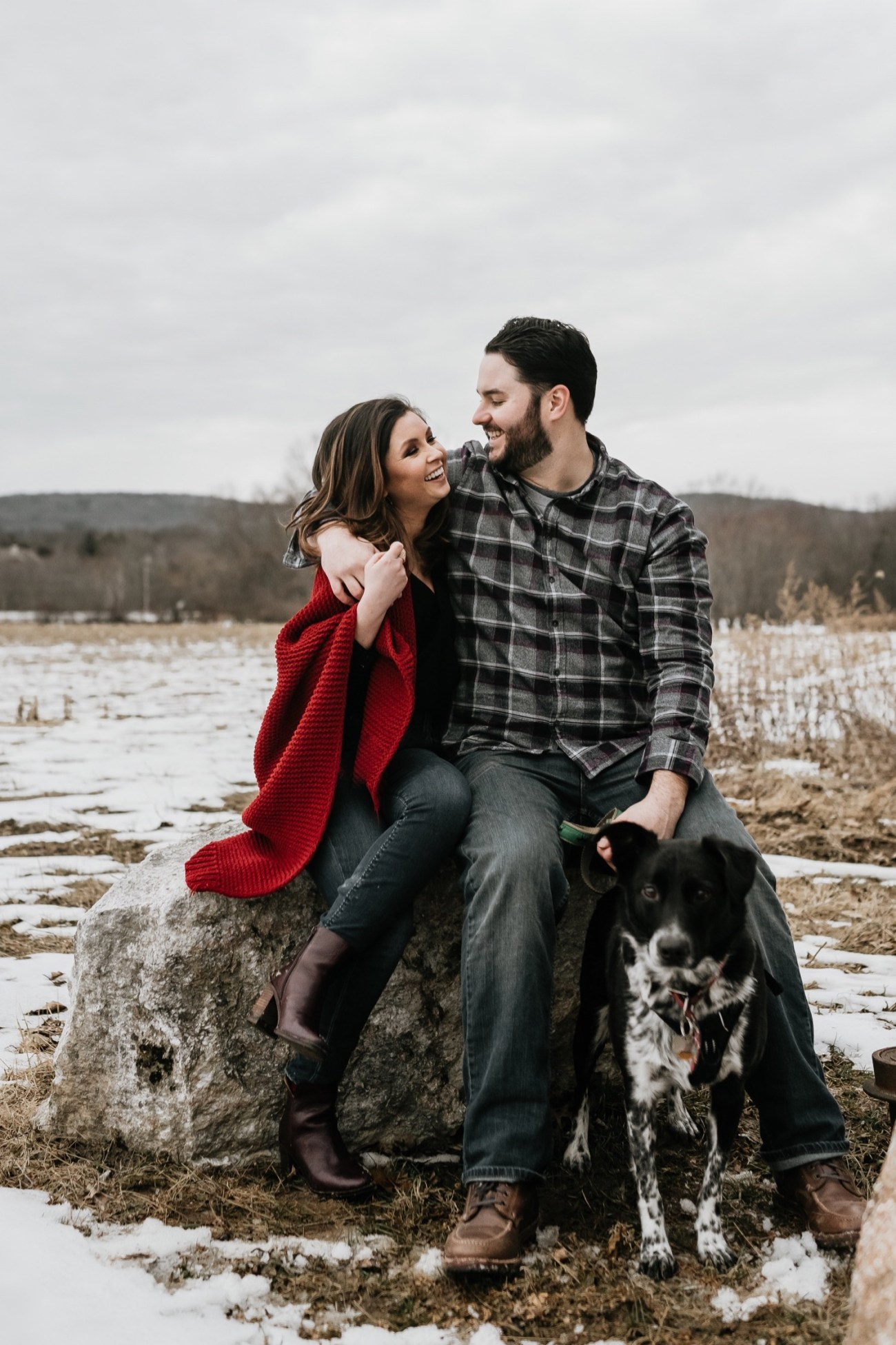 31 Minnewaska State Park Minnewaska Engagement Session Winter Engagement Adventurous Engagement