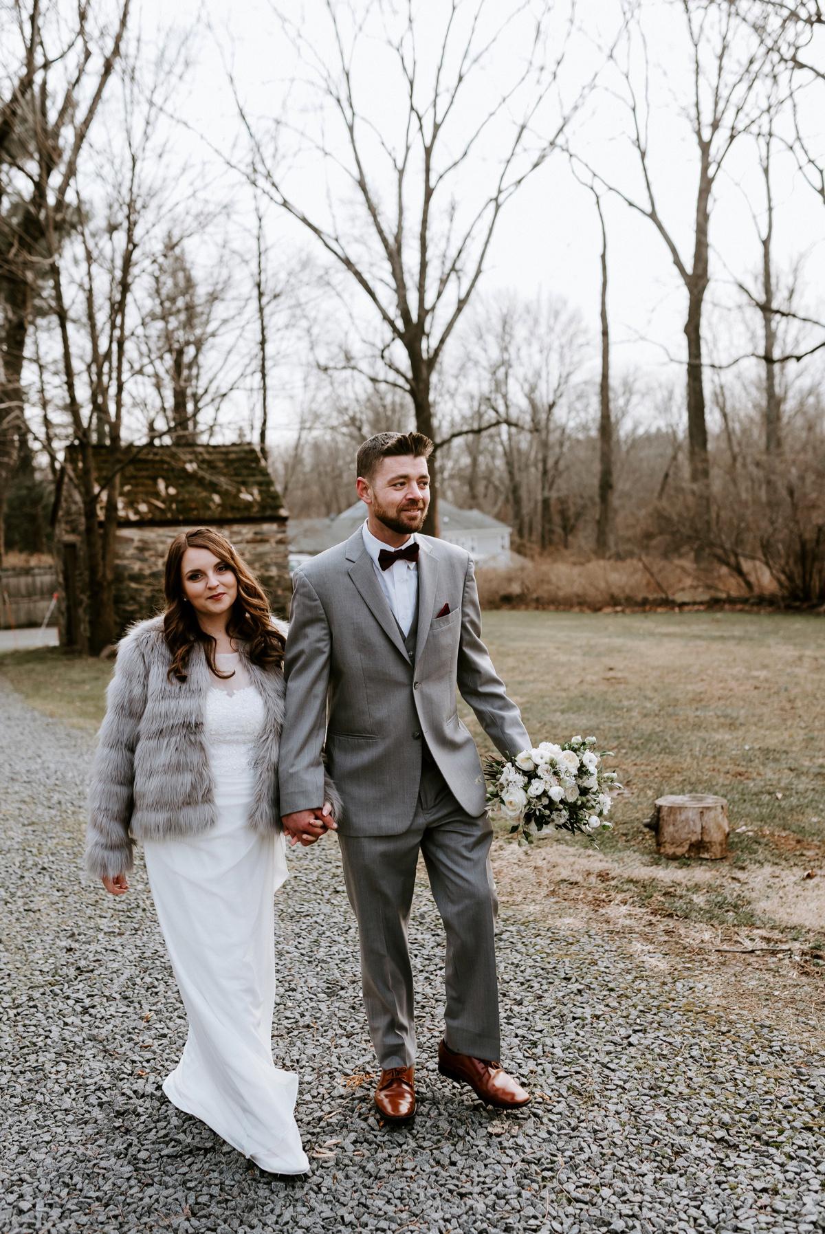 38 Winter Elopement Adventurous Elopement Photographer New Jersey Wedding Photographer Intimate Wedding