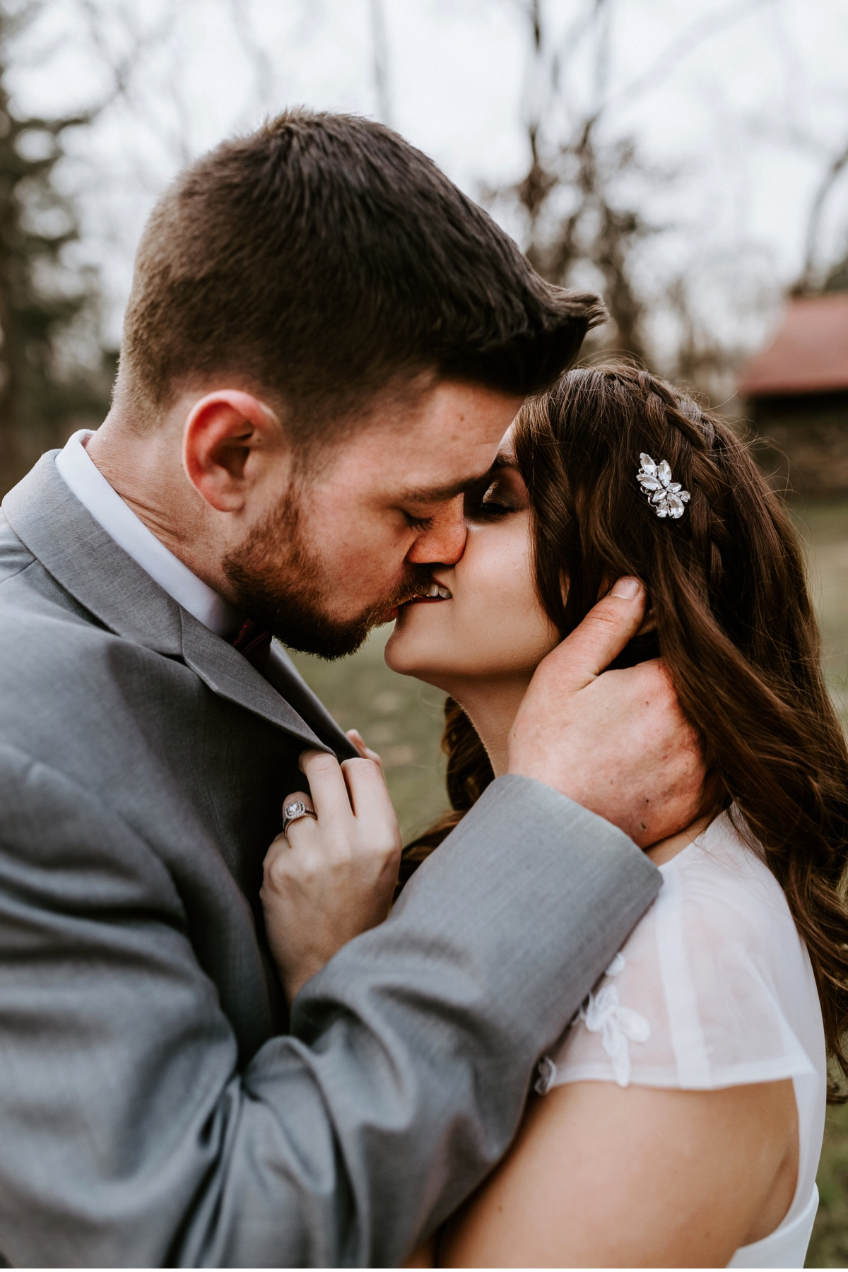 41 Winter Elopement Adventurous Elopement Photographer New Jersey Wedding Photographer Intimate Wedding