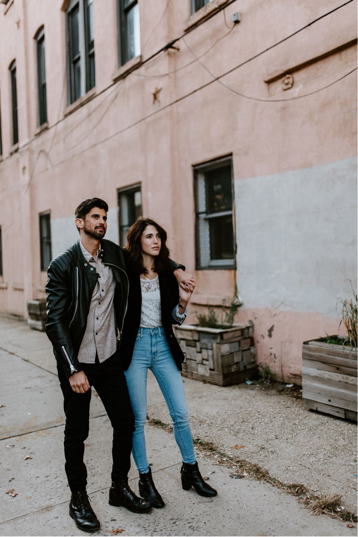Industrial Brooklyn Engagement Destination Wedding Photographer 24