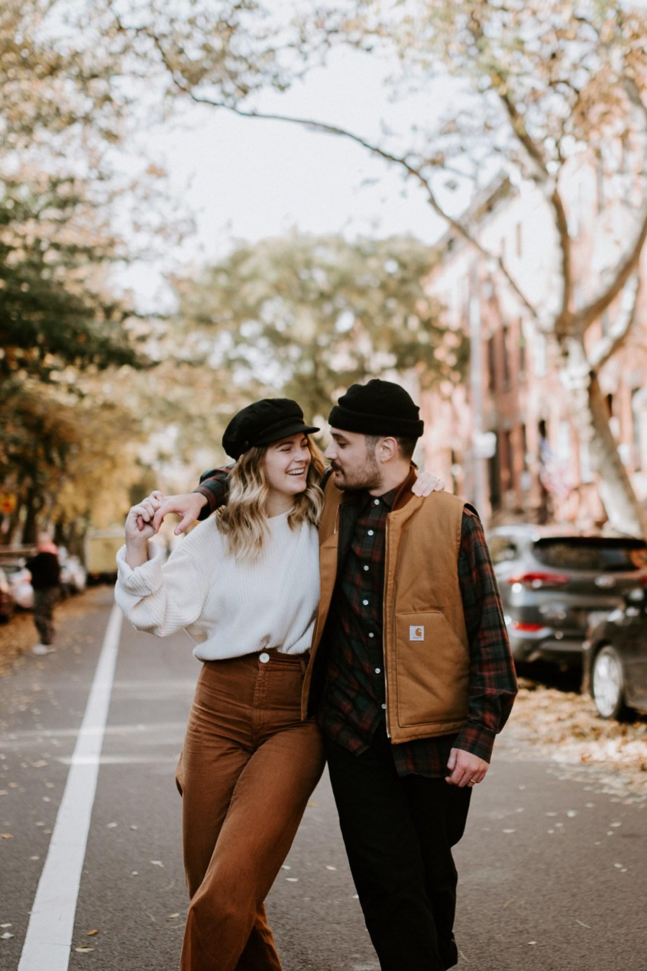 01 Brooklyn Wedding Photographer Brooklyn Engagement Session 501 Union Brooklyn Fall Engagement Session