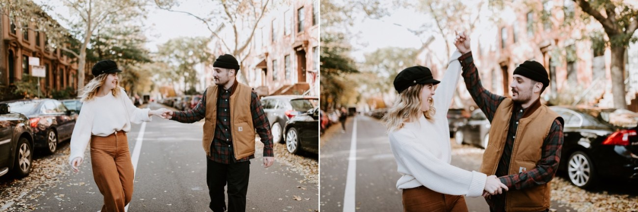 02 Brooklyn Wedding Photographer Brooklyn Engagement Session 501 Union Brooklyn Fall Engagement Session