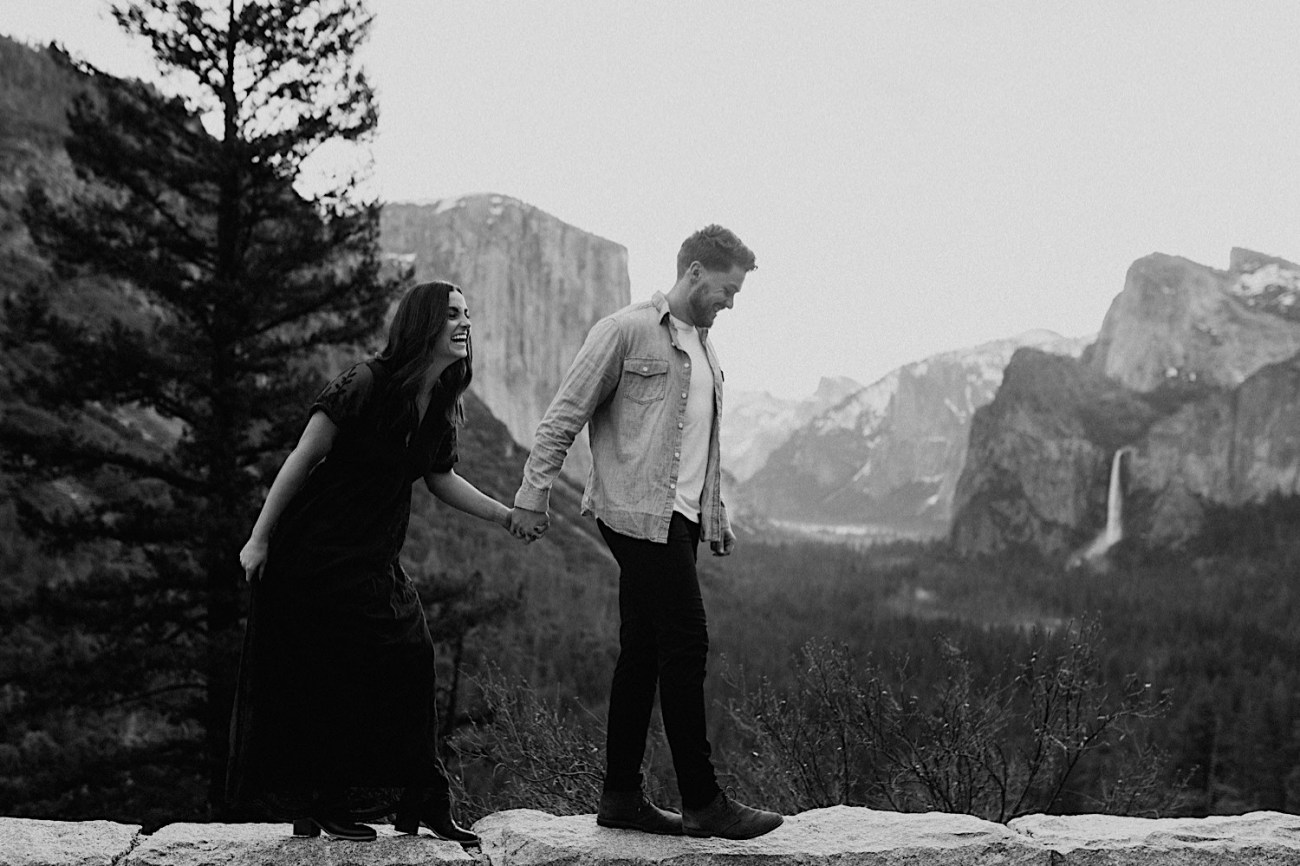 Yosemite National Park Enagement Session California Wedding Photographer 06