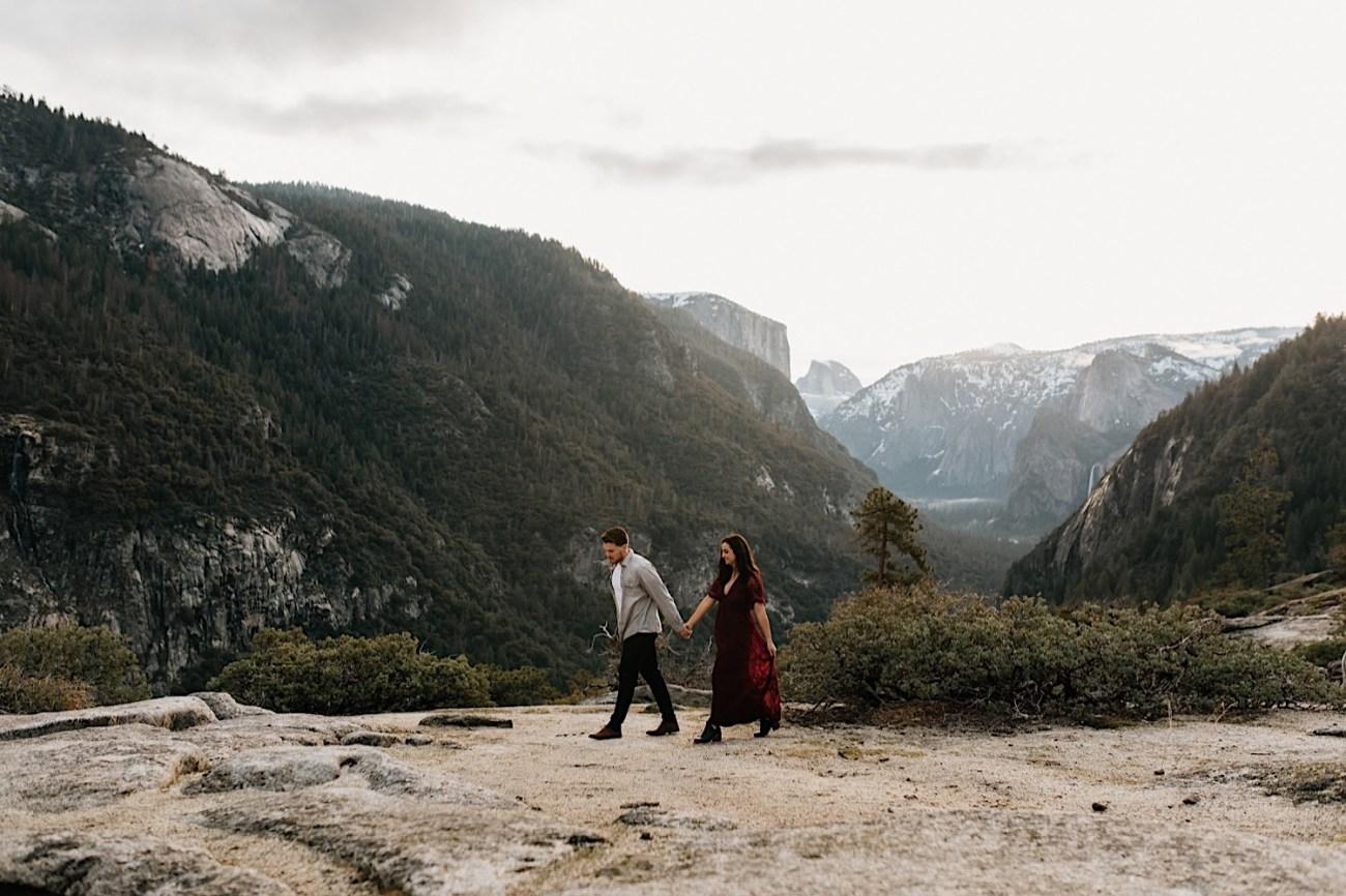 Yosemite National Park Enagement Session California Wedding Photographer 10