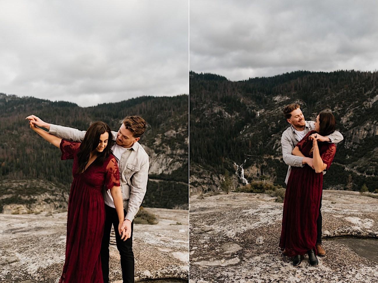 Yosemite National Park Enagement Session California Wedding Photographer 26