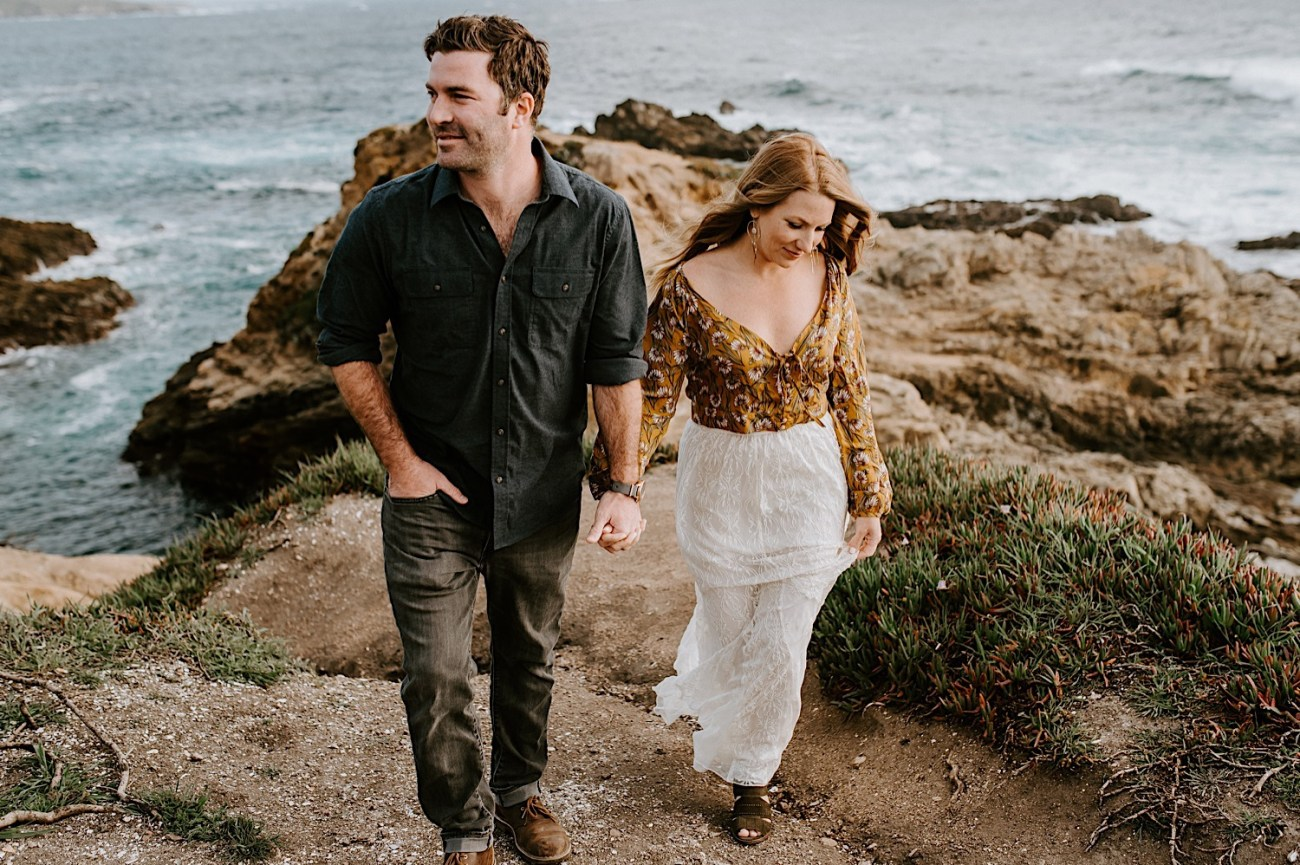 Big Sur California Couple Session San Francisco Wedding Photographer 10