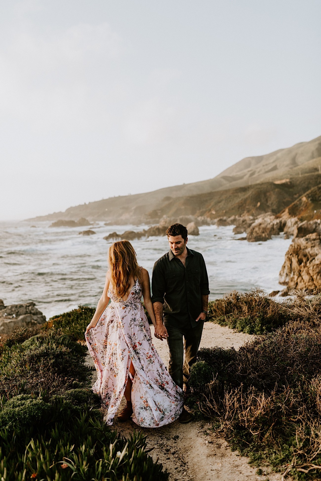 Big Sur California Couple Session San Francisco Wedding Photographer 32