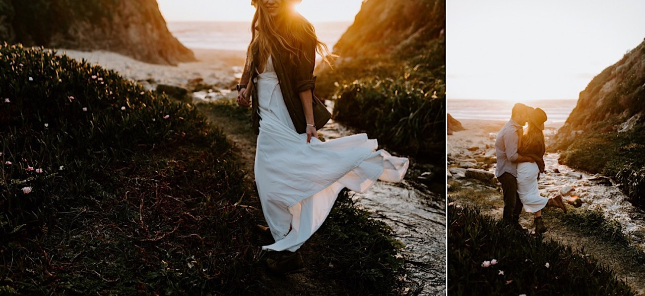 Monterey Wedding Photographer California Coast Enagement Session 14