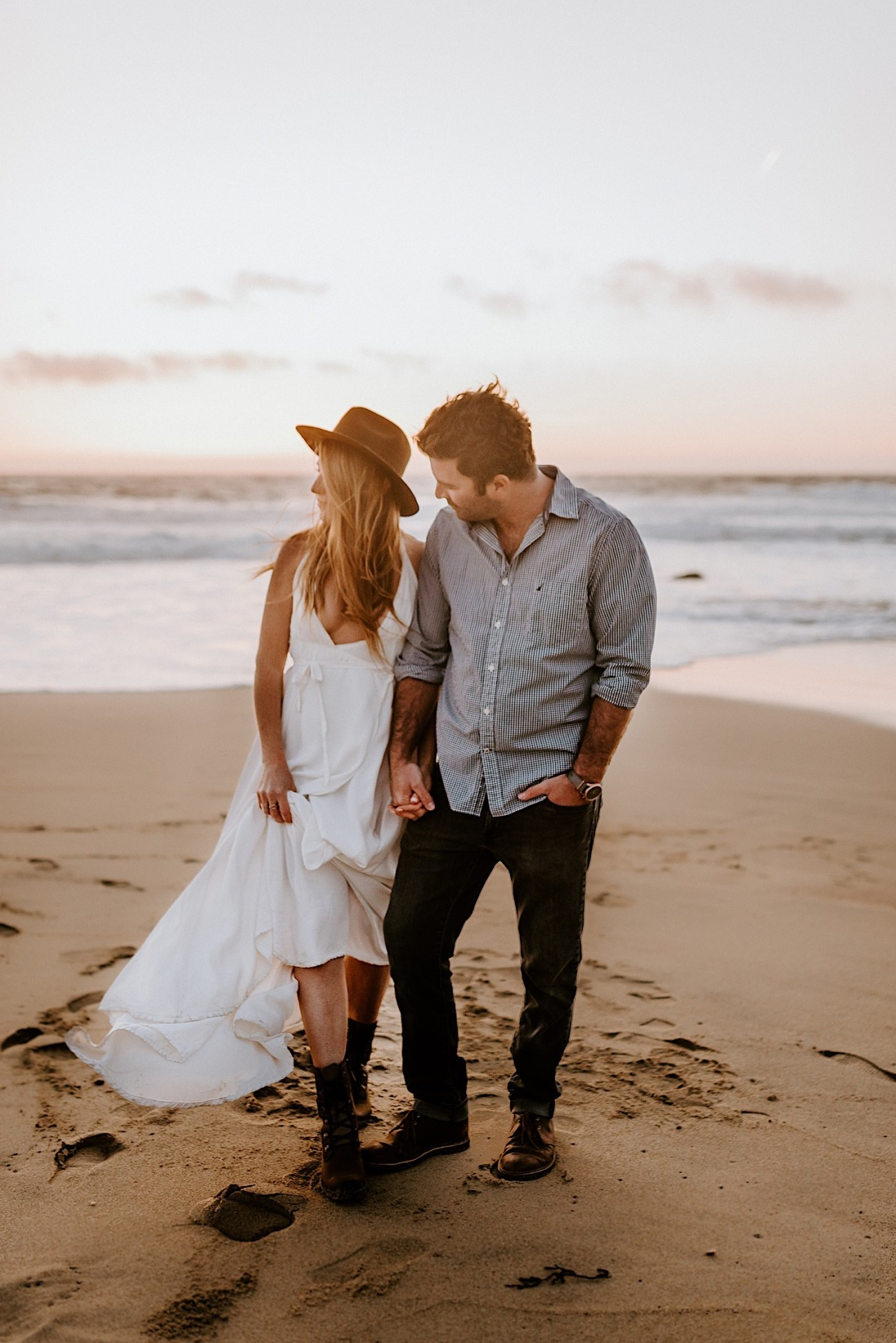 Monterey Wedding Photographer California Coast Enagement Session 21