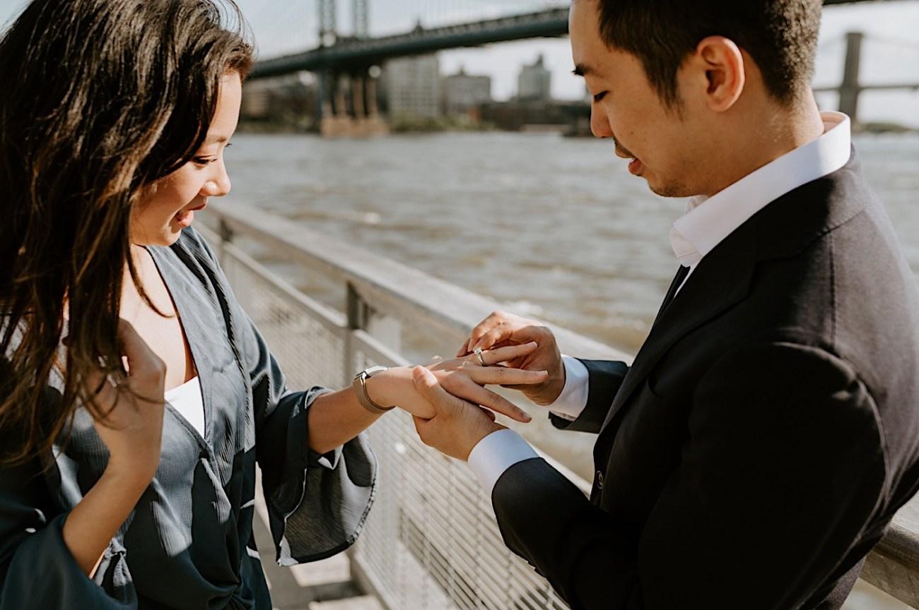 New York City Proposal NYC Wedding Photographer NYC Engagement Photos 16