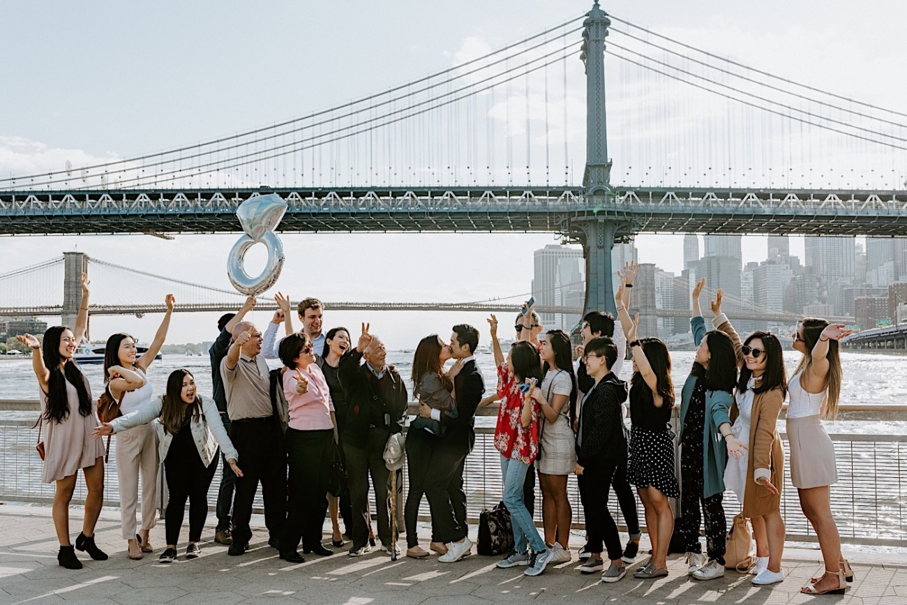 New York City Proposal NYC Wedding Photographer NYC Engagement Photos 33