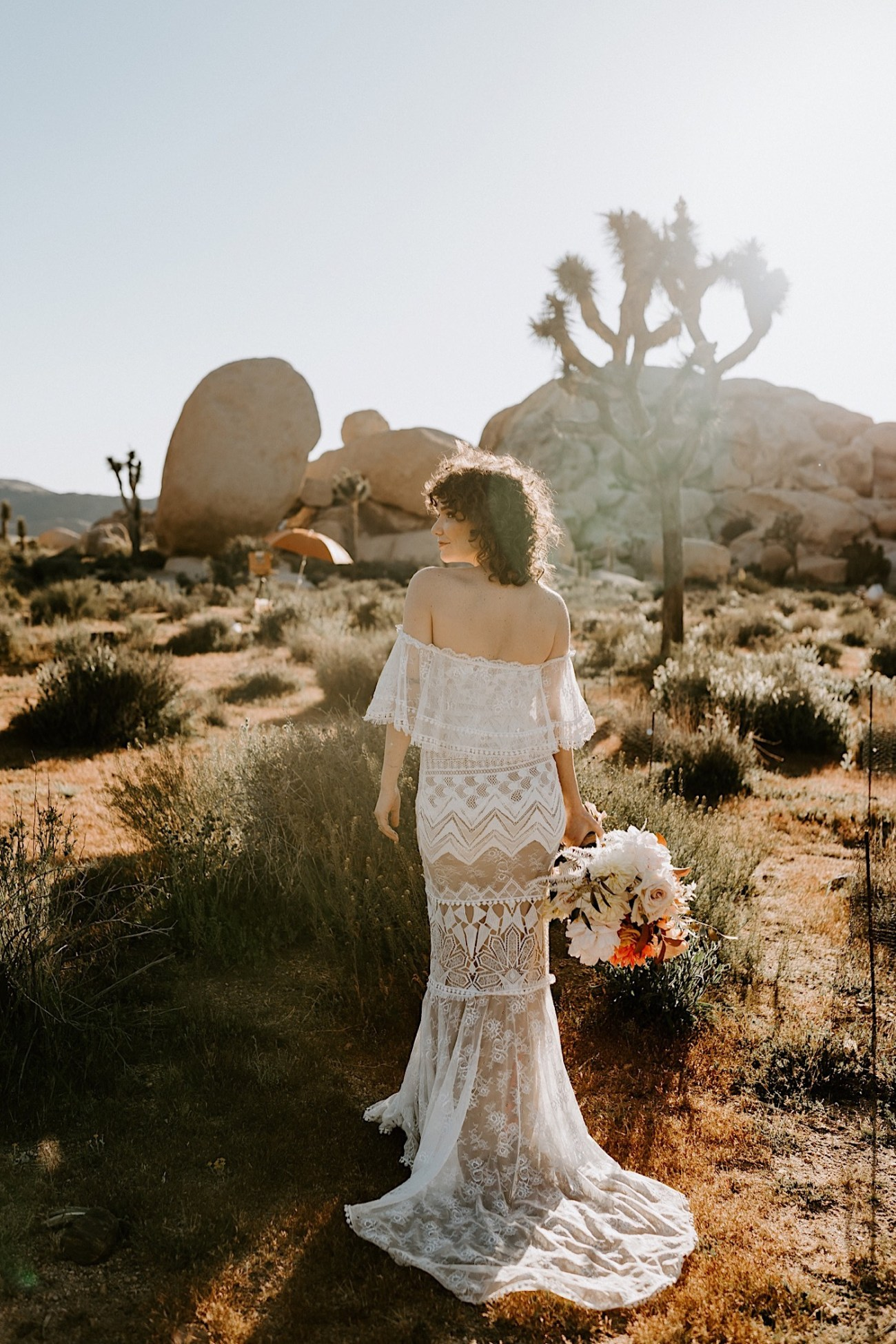 Joshua Tree Same Sex Wedding Joshua Tree Wedding Photographer Palm Springs Wedding Photographer 12