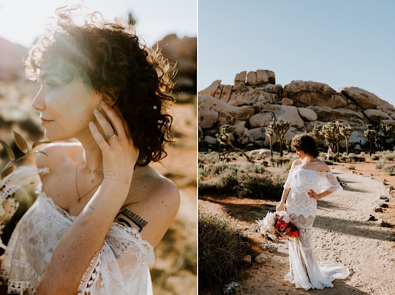 Joshua Tree Same Sex Wedding Joshua Tree Wedding Photographer Palm Springs Wedding Photographer 14