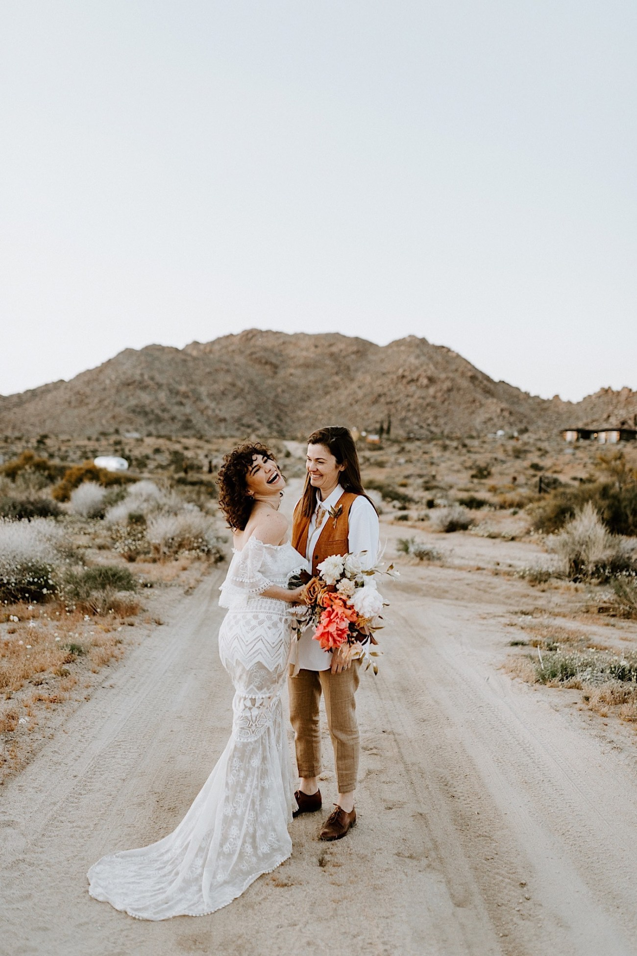 Joshua Tree Same Sex Wedding Joshua Tree Wedding Photographer Palm Springs Wedding Photographer 57