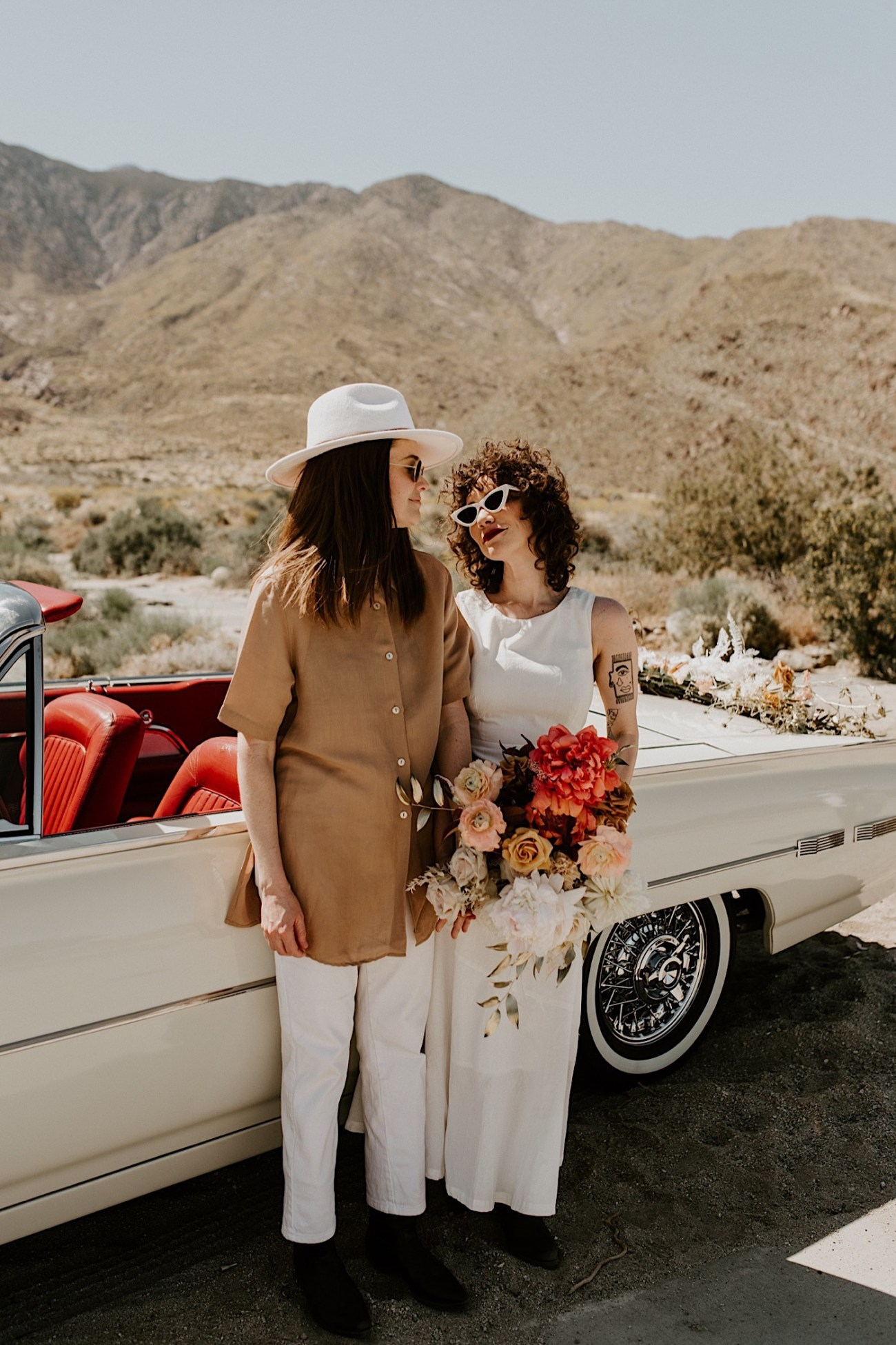 Palm Springs Elopement Los Angeles Elopement Photographer Desert Elopement 33