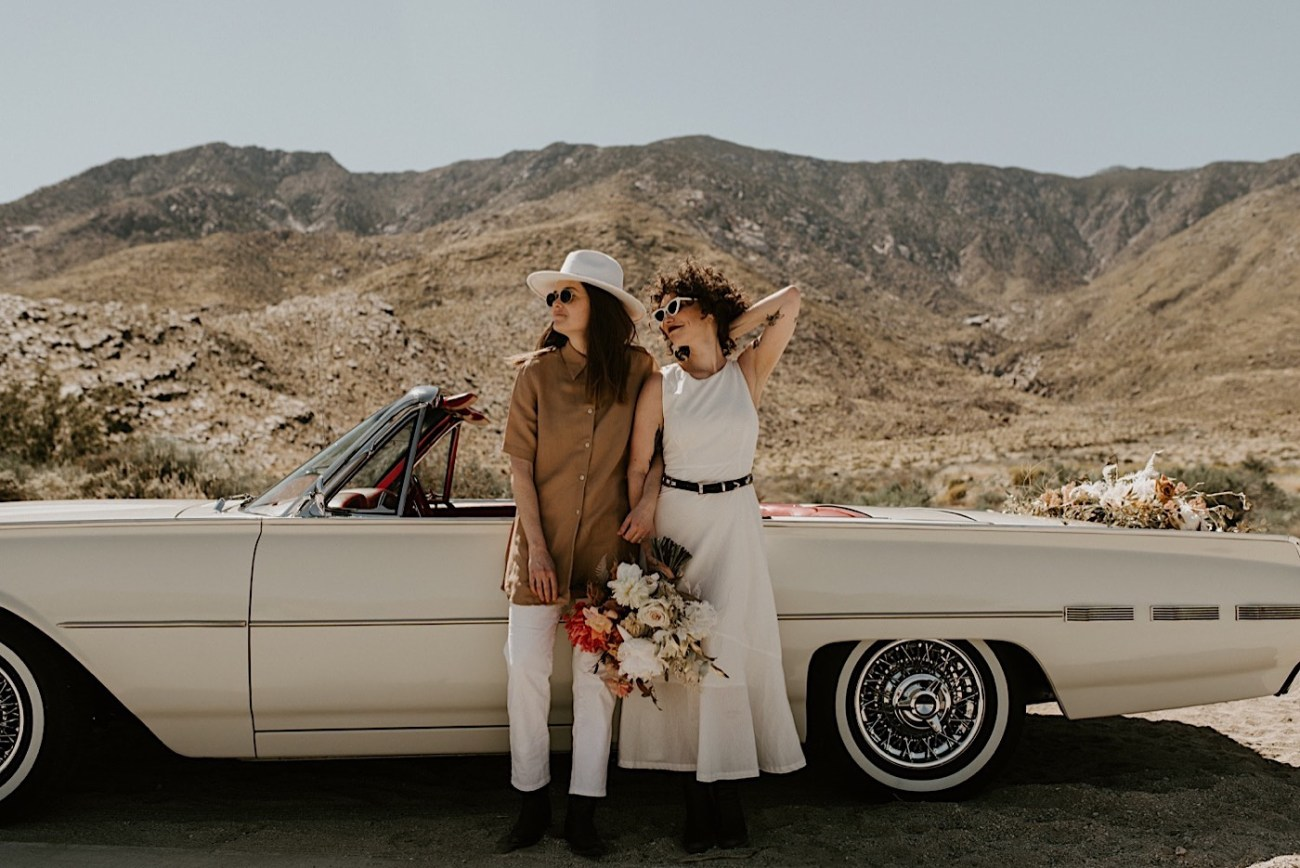 Palm Springs Elopement Los Angeles Elopement Photographer Desert Elopement 34