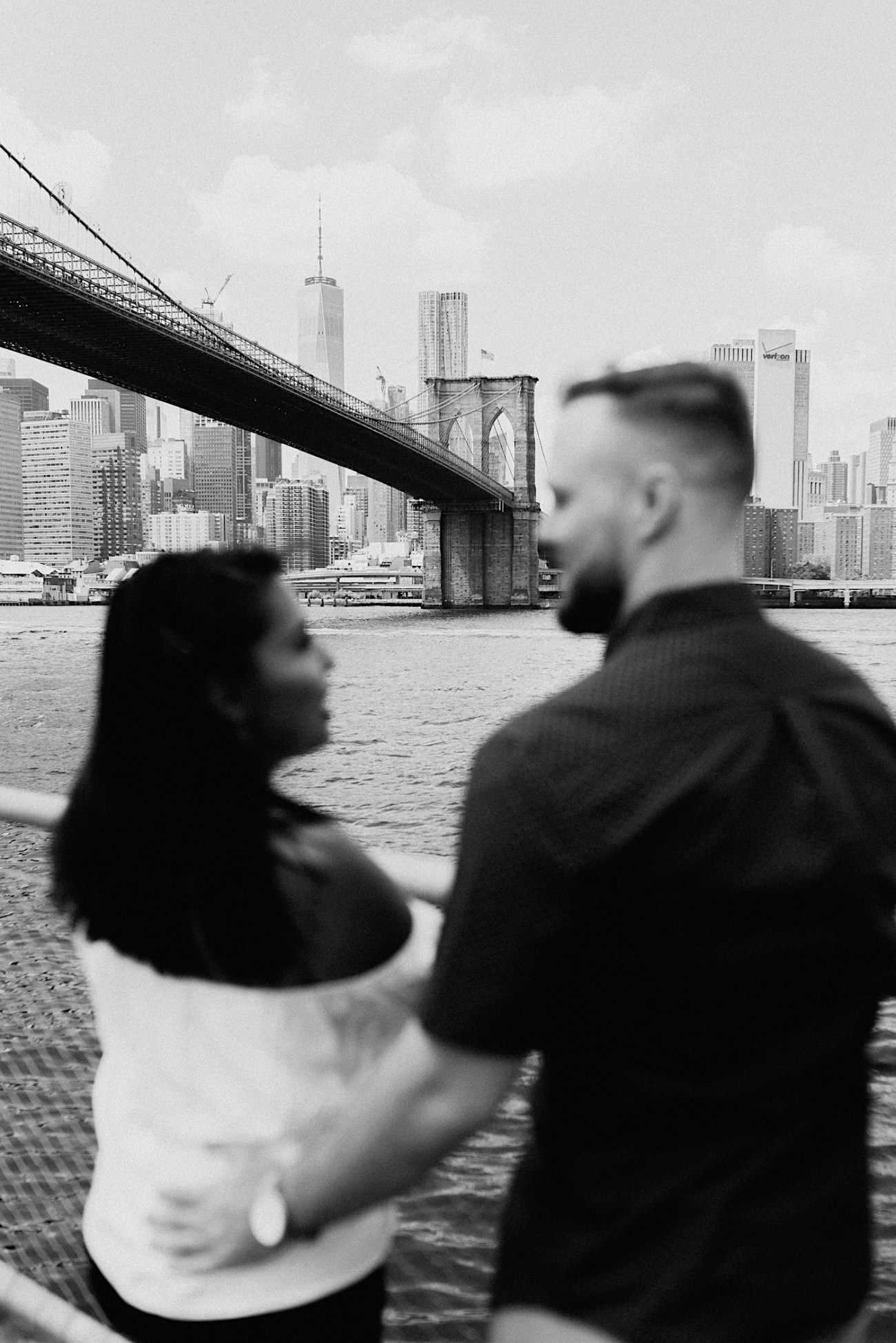 Dumbo Brooklyn Proposal Brooklyn Engagement Photos Brooklyn Wedding Photographer 018