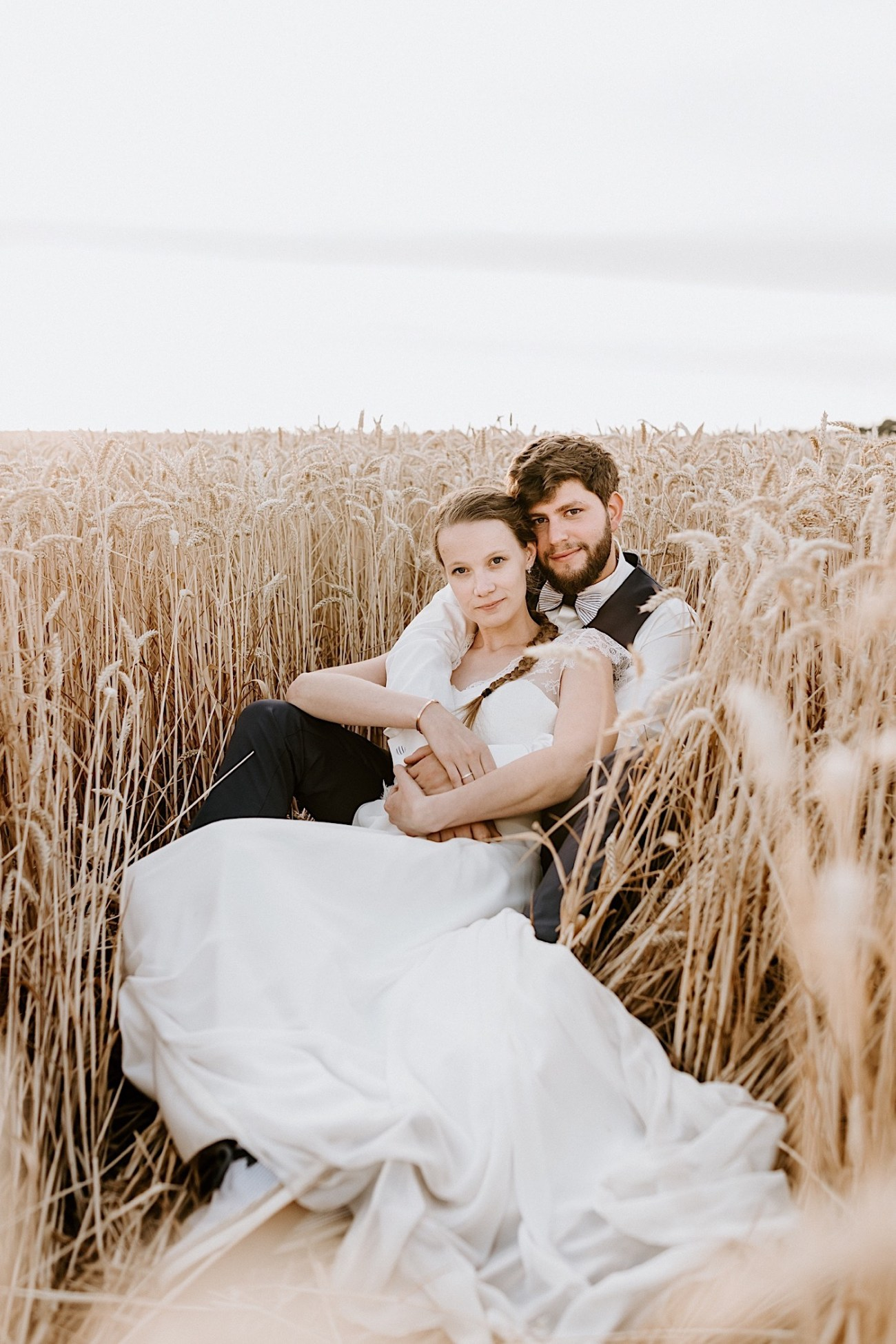 France Wedding Wheat Field Wedding Photos Paris Wedding Photographer 025