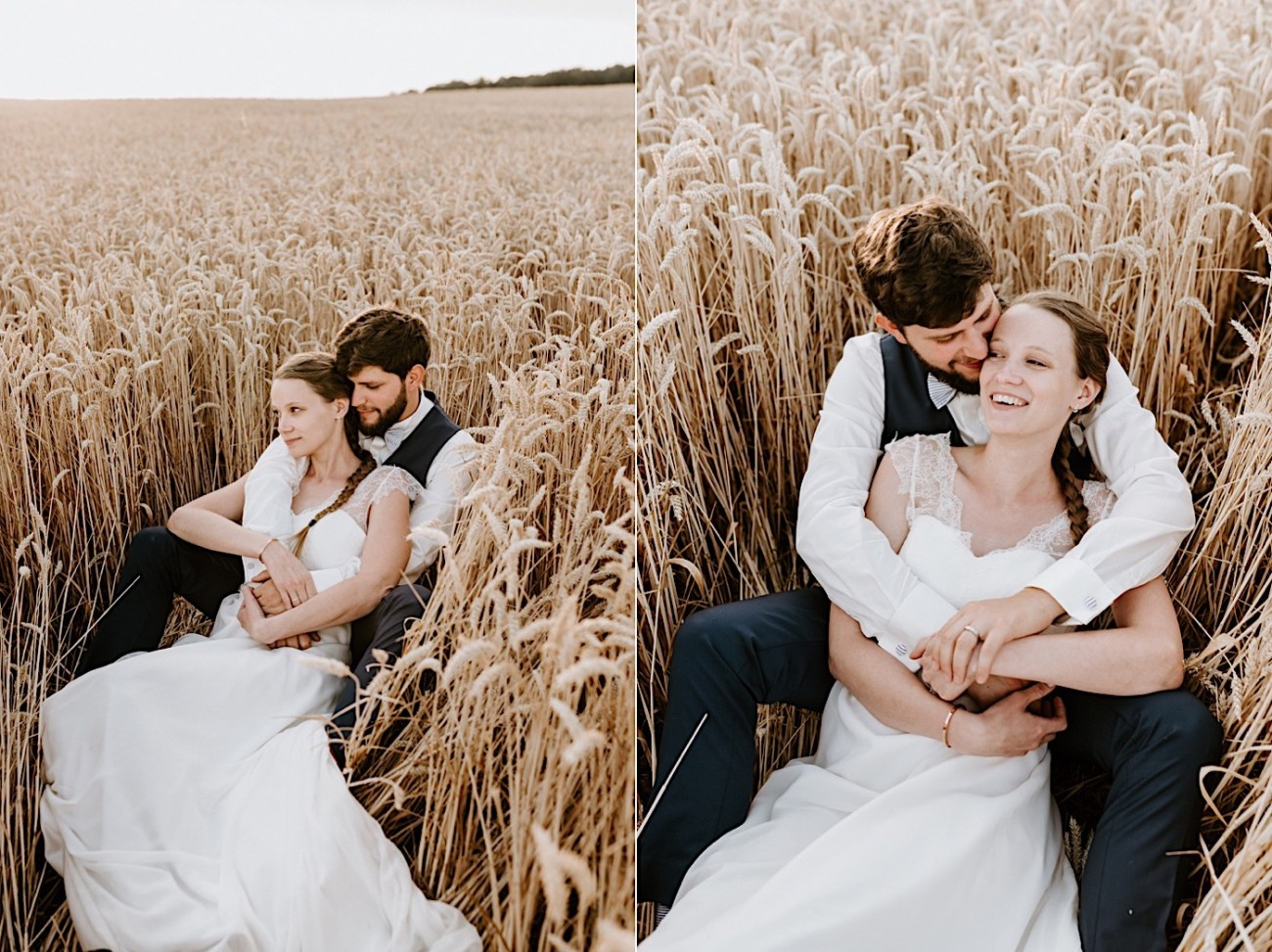 France Wedding Wheat Field Wedding Photos Paris Wedding Photographer 026