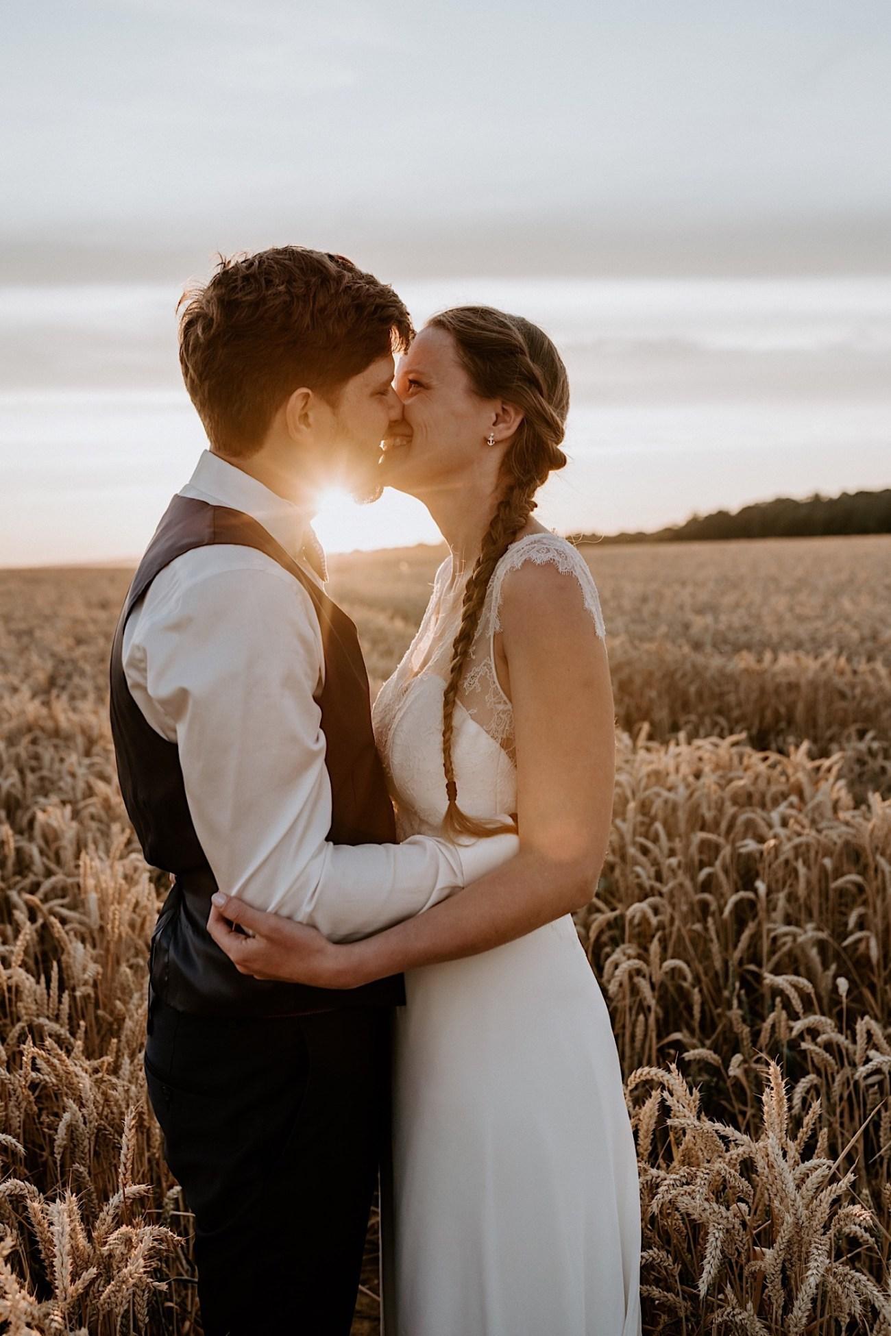France Wedding Wheat Field Wedding Photos Paris Wedding Photographer 040