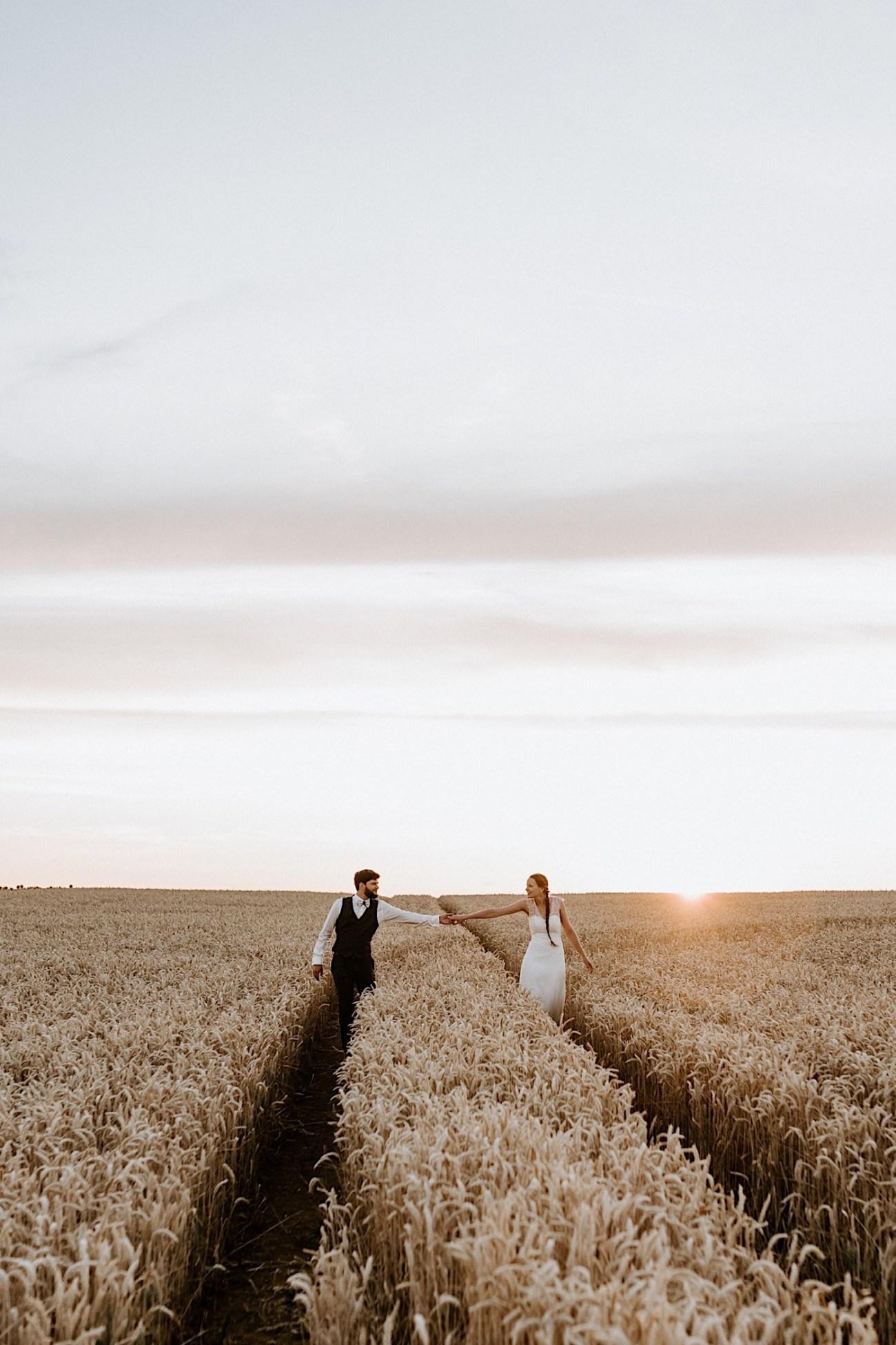 France Wedding Wheat Field Wedding Photos Paris Wedding Photographer 044