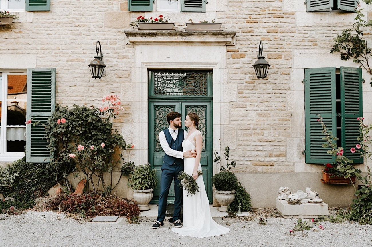 French Rural Wedding After Wedding Day Photos Paris Wedding Photographer 001