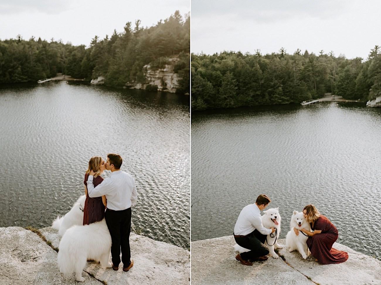 Minnewaska Engagement Session New York Wedding Photographer Hudson Valley Wedding Catskill Weddingphotographer 16