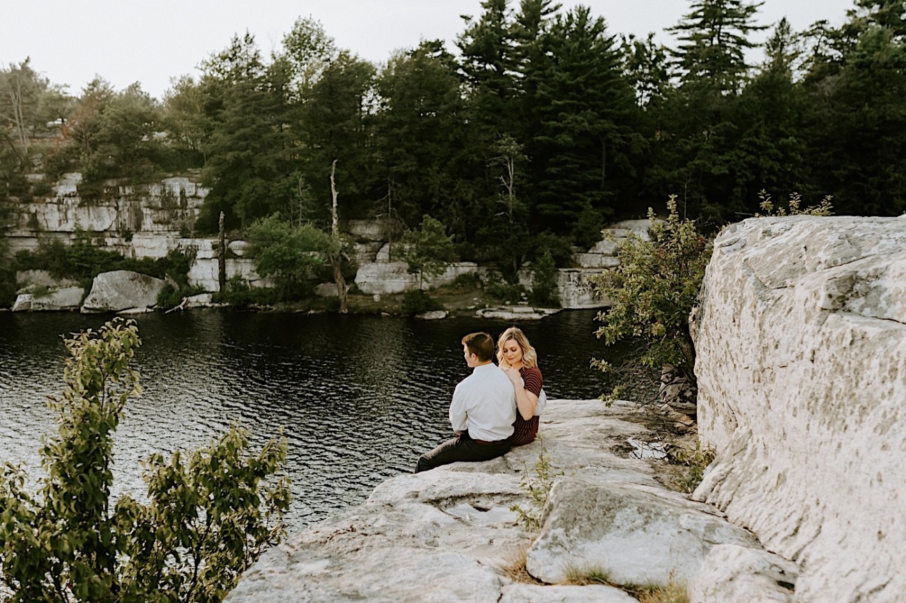 Minnewaska Engagement Session New York Wedding Photographer Hudson Valley Wedding Catskill Weddingphotographer 20