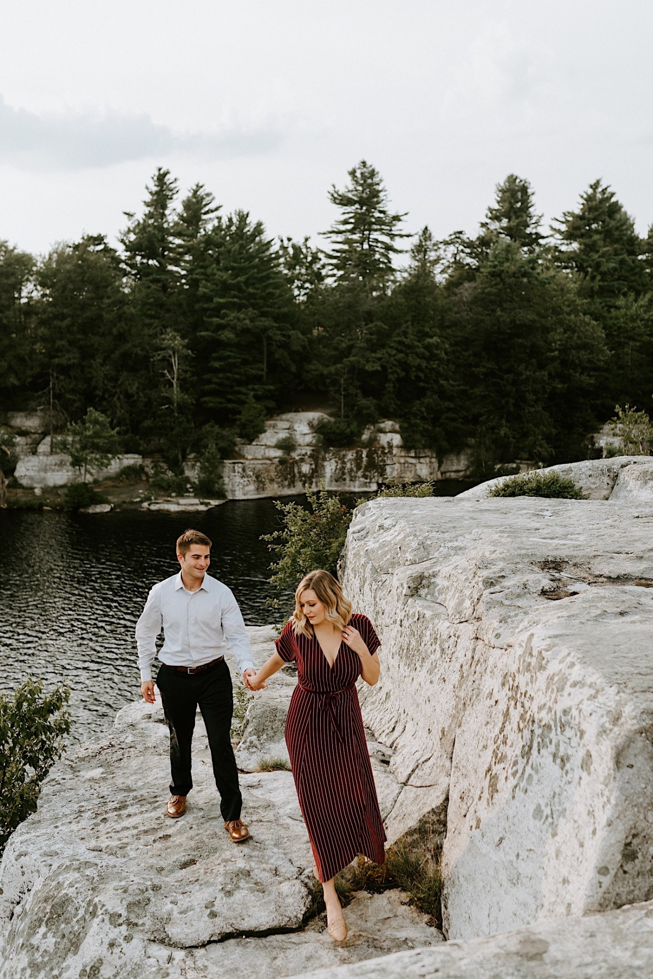 Minnewaska Engagement Session New York Wedding Photographer Hudson Valley Wedding Catskill Weddingphotographer 21