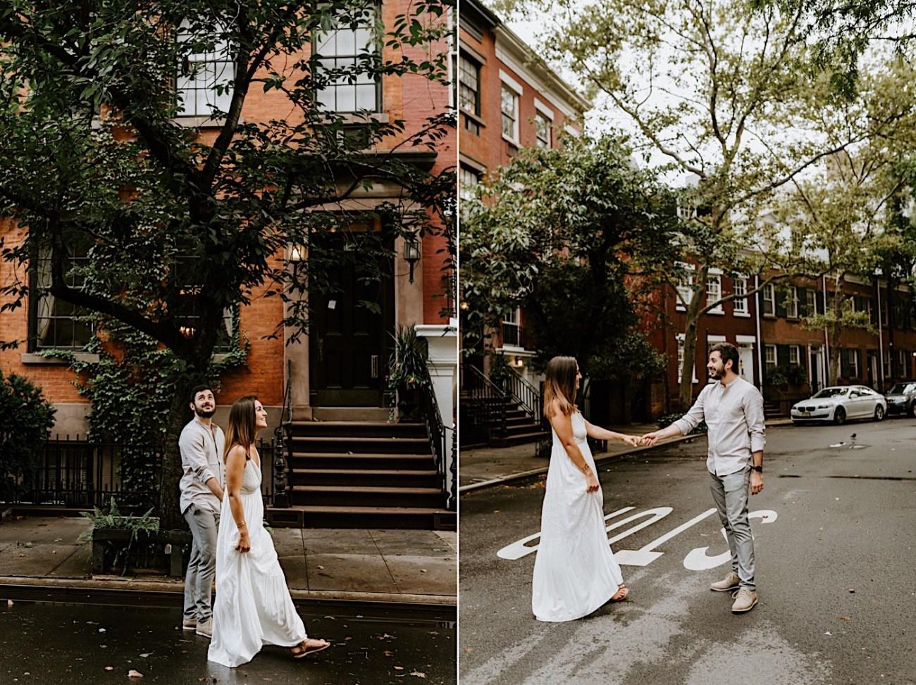 Greenwich Village Engagement Photos Manhattan Engagement Session New York Wedding Photographer 02