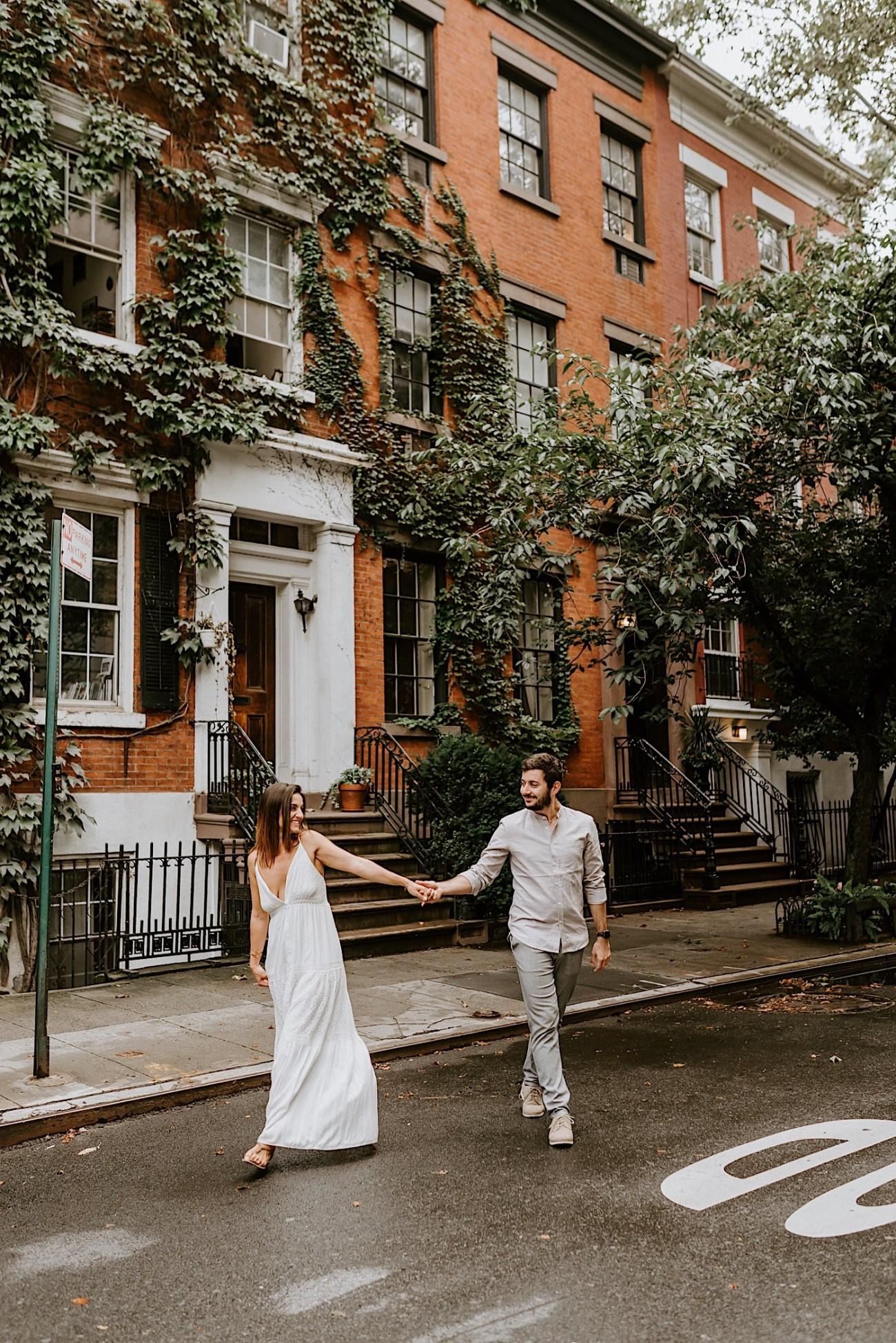 Greenwich Village Engagement Photos Manhattan Engagement Session New York Wedding Photographer 04