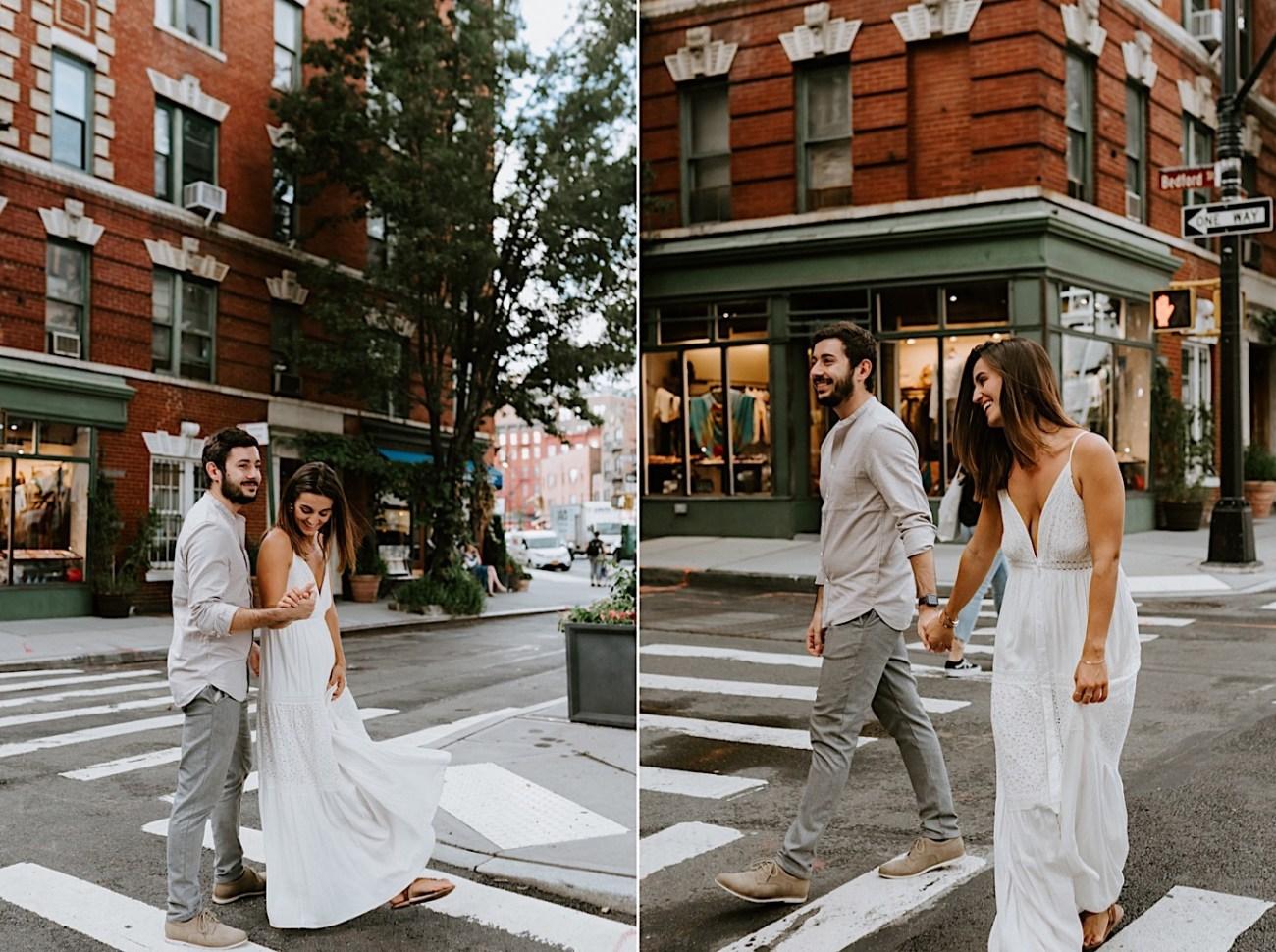 Greenwich Village Engagement Photos Manhattan Engagement Session New York Wedding Photographer 26