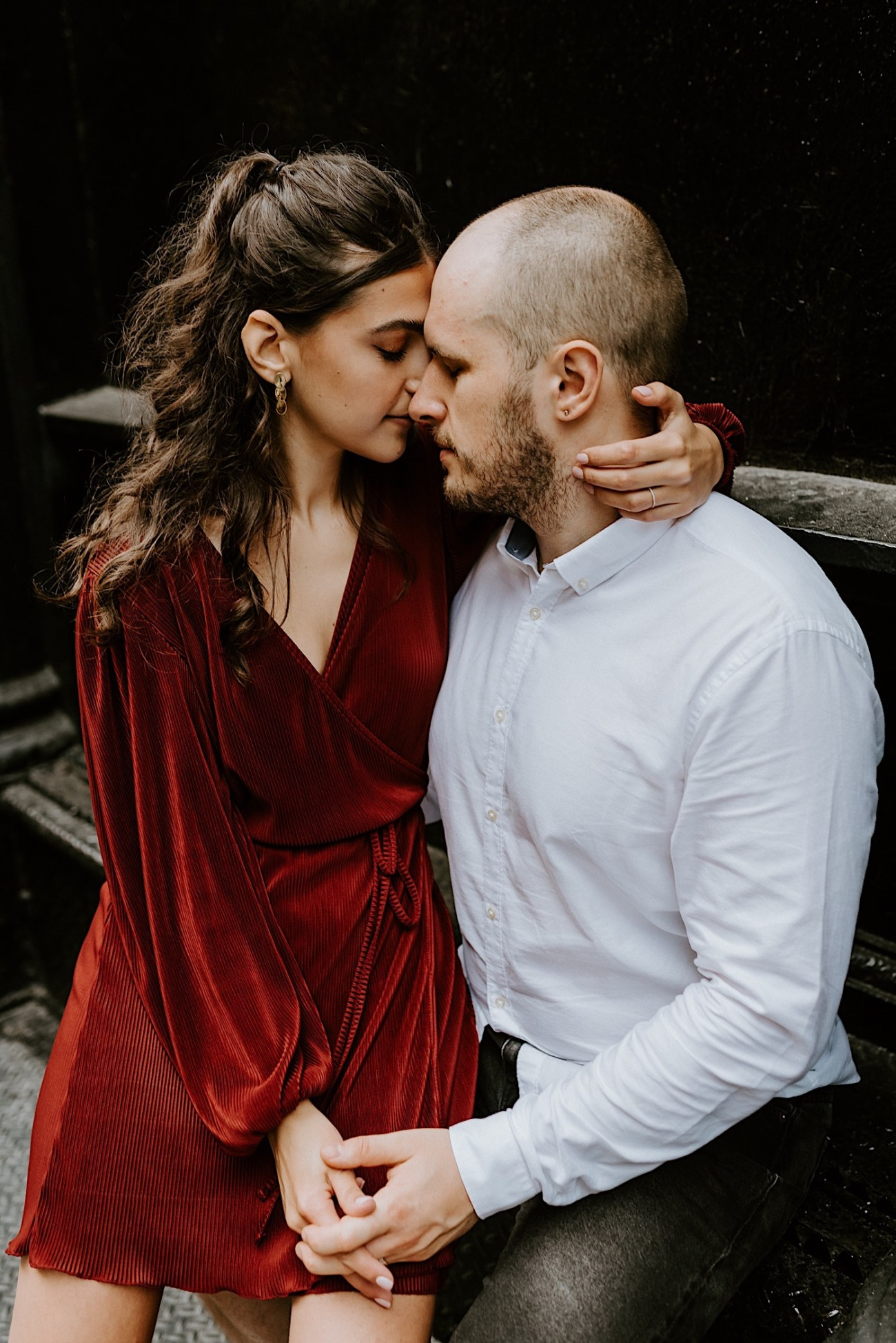 NYC Soho Couple Session Engagement Session NYC Wedding Photographer Manhattan Engaegement Locations 03