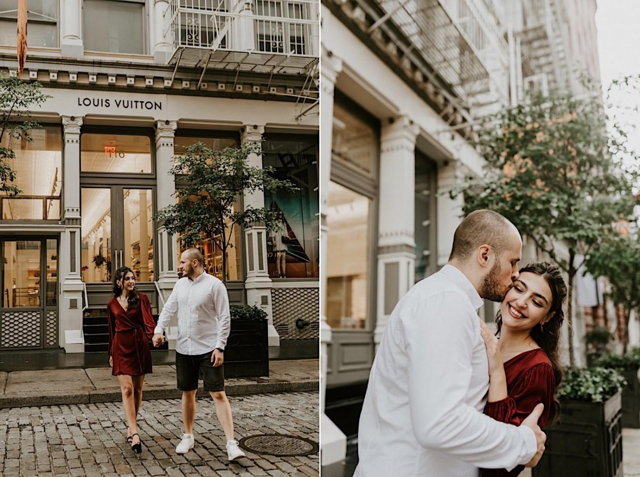 Soho Engagement Session NYC Wedding Photographer Manhattan Engaegement Locations 02