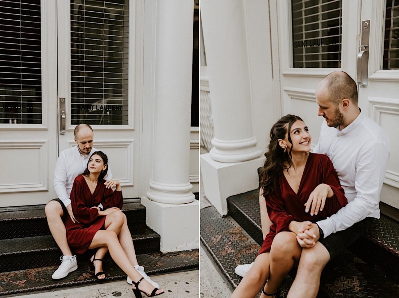 Soho Engagement Session NYC Wedding Photographer Manhattan Engaegement Locations 05