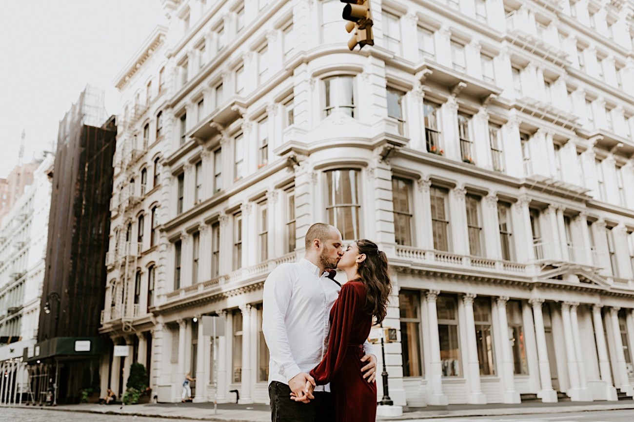Soho Engagement Session NYC Wedding Photographer Manhattan Engaegement Locations 12