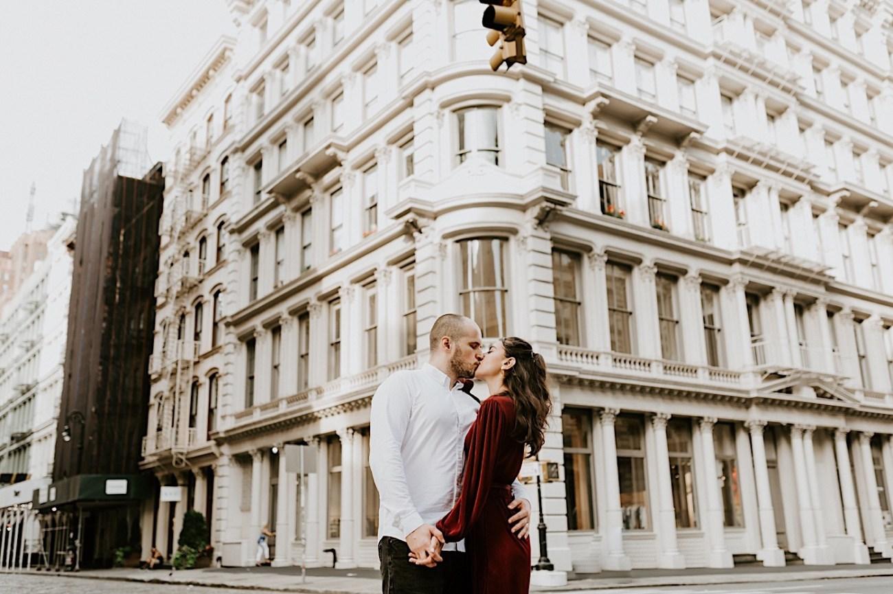 Soho Engagement Session NYC Wedding Photographer Manhattan Engaegement Locations 12