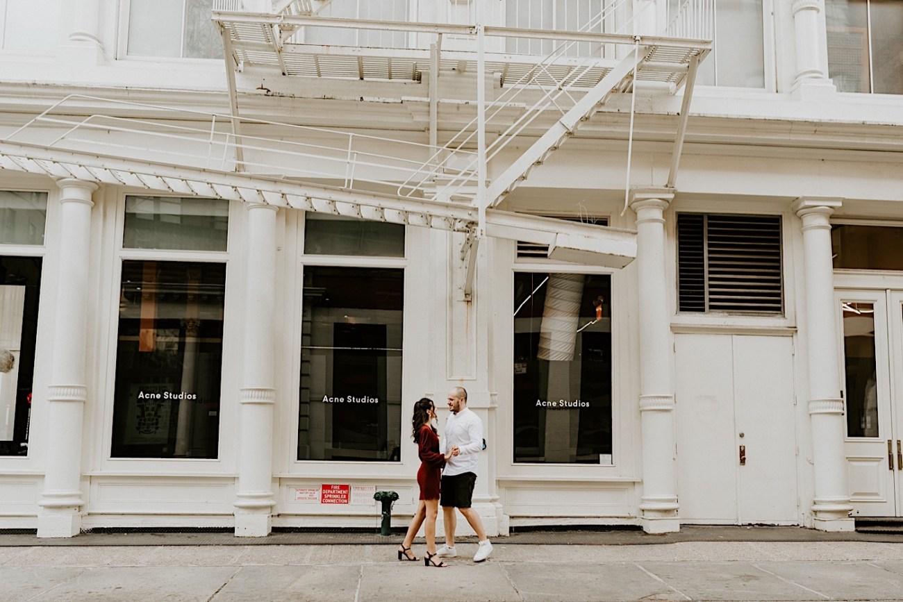 Soho Engagement Session NYC Wedding Photographer Manhattan Engaegement Locations 15
