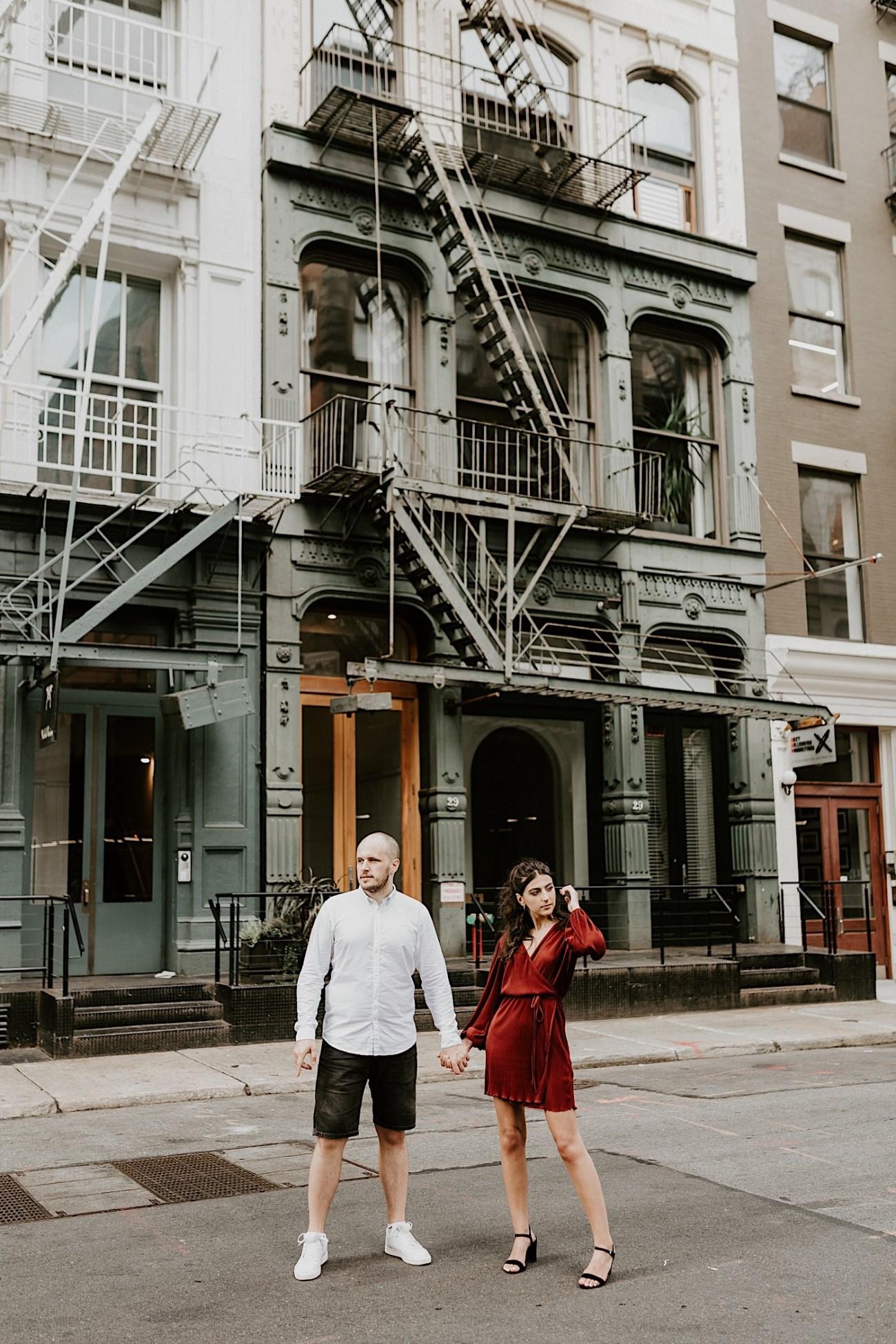 Soho Engagement Session NYC Wedding Photographer Manhattan Engaegement Locations 16